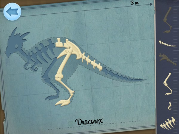 Kids can play pretend as a paleontologist in Archaeologist Dinosaur