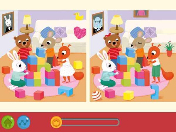 Hidden Pictures Puzzle Town offers five different types of puzzle games for kids