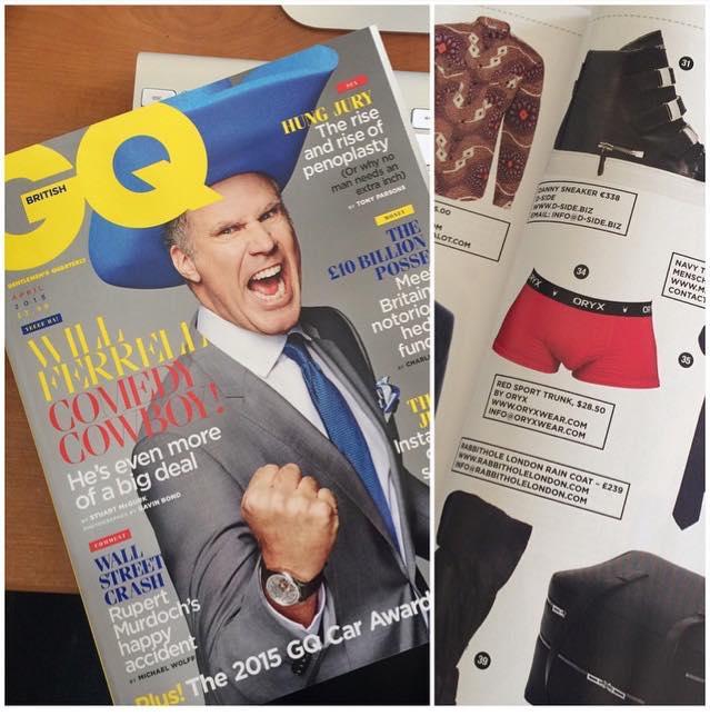 In April 2015 British GQ