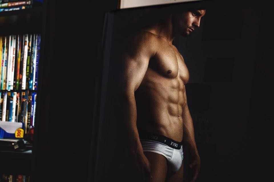 Basic Brief in white onIvan Gurin by BLUE Photography