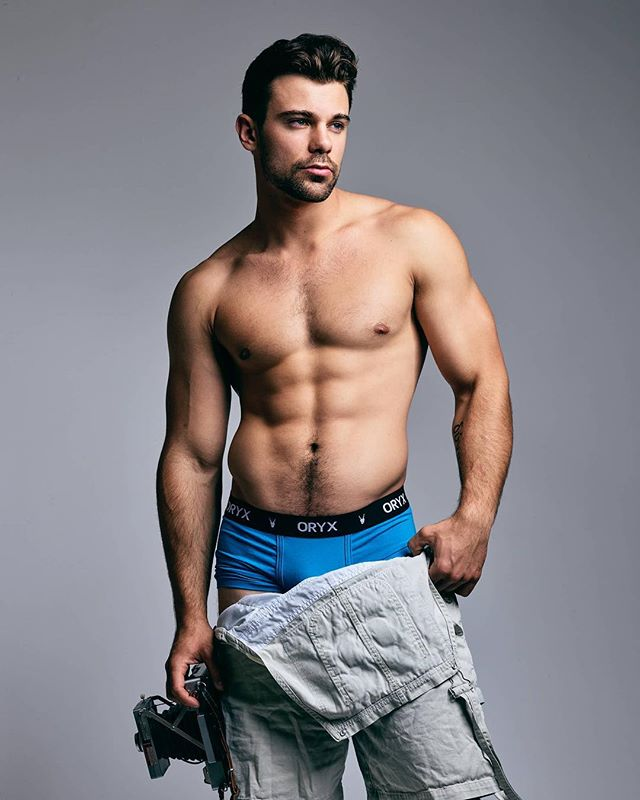 I spy @theseanbradyb in our Sport Trunk! Photographed by @treysphotostudio . BOLD. SOPHISTICATED. STYLE.