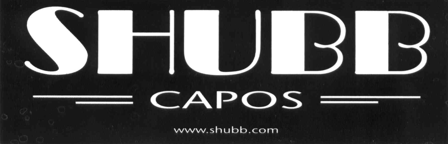 - Clara Baker proudly uses and endorses Shubb Capos. www.shubb.com