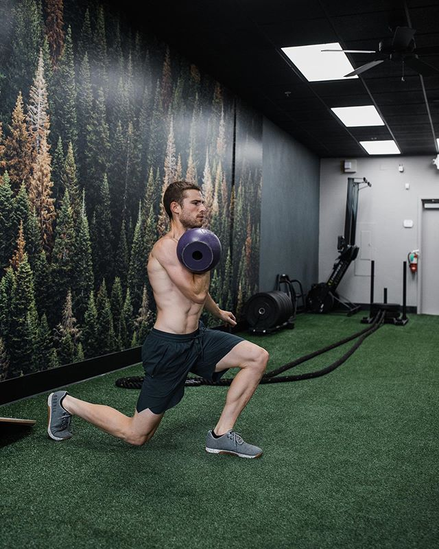 ™️Here's what the perfect training session looks like, step by step: 1. Address any injuries or muscle compensations.  This means foam rolling, stretching, and activation. 2. Warm Up.  Slowly work up to a sweat within 7-10 min. 3. Stretch Dynamically.  Think constant movement while bending and twisting. 4. Total Body Strength Circuits.  3-4 Rounds.  1-2 Circuits.  Each one should include a movement that emphasizes lower body, upper, body, and core.  Mix in total body movements, but know what the limiting muscles group is(the one that will make you stop before every other). 5. Breath.  Spend at least two minutes breathing in a controlled rhythm.  Go over your workout in your head...the good, bad, and ugly.  Then, add gratitude. 6. Static Stretch.  Hold positions to lengthen each of your most used muscle groups from the workout or address problem areas. . 💬What does your perfect session look like? . 📸: @loveinjustin #dialedhealth #dialedfam