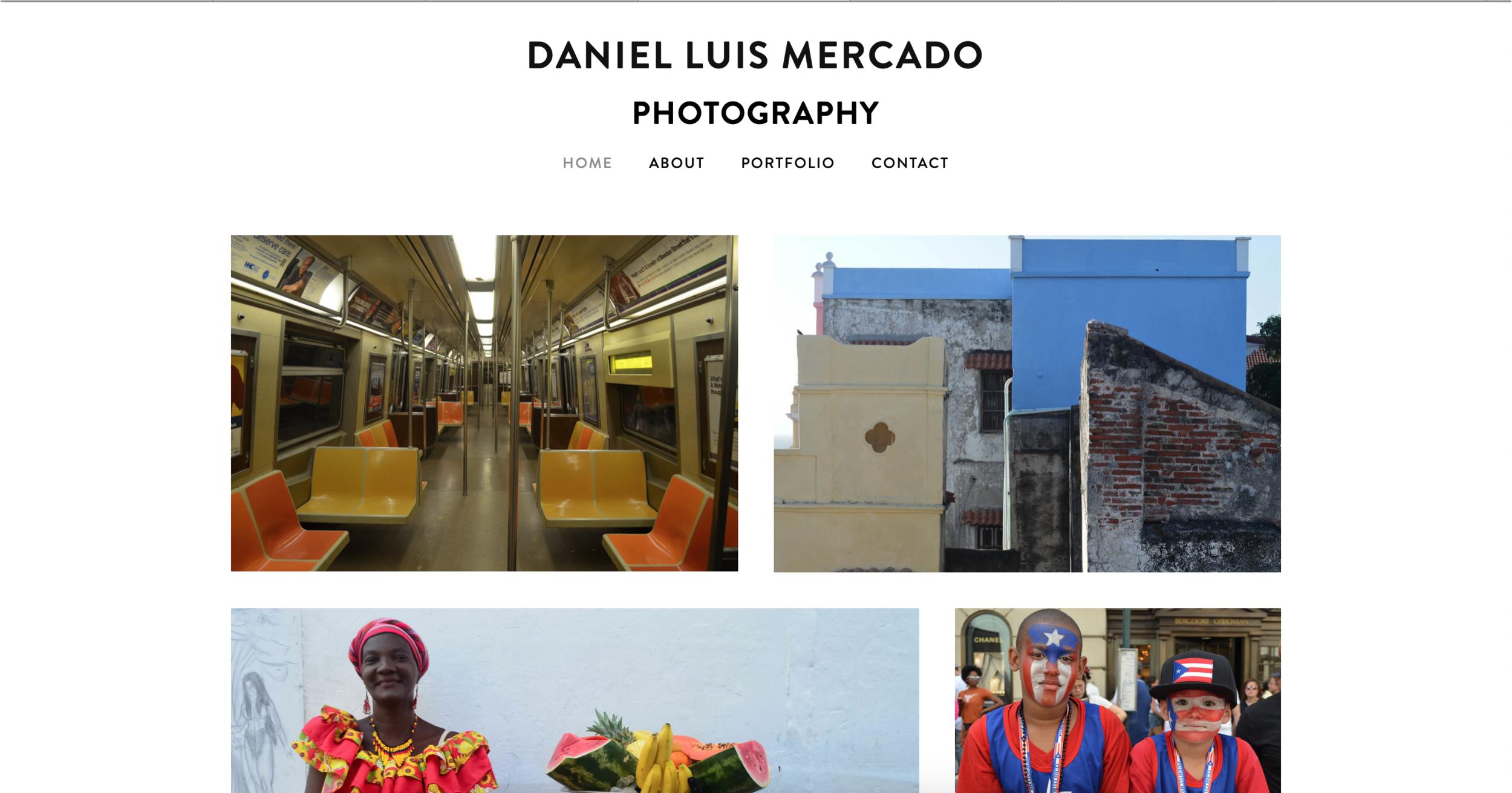 Daniel Luis Mercado - Personal WebsiteClick Here to View