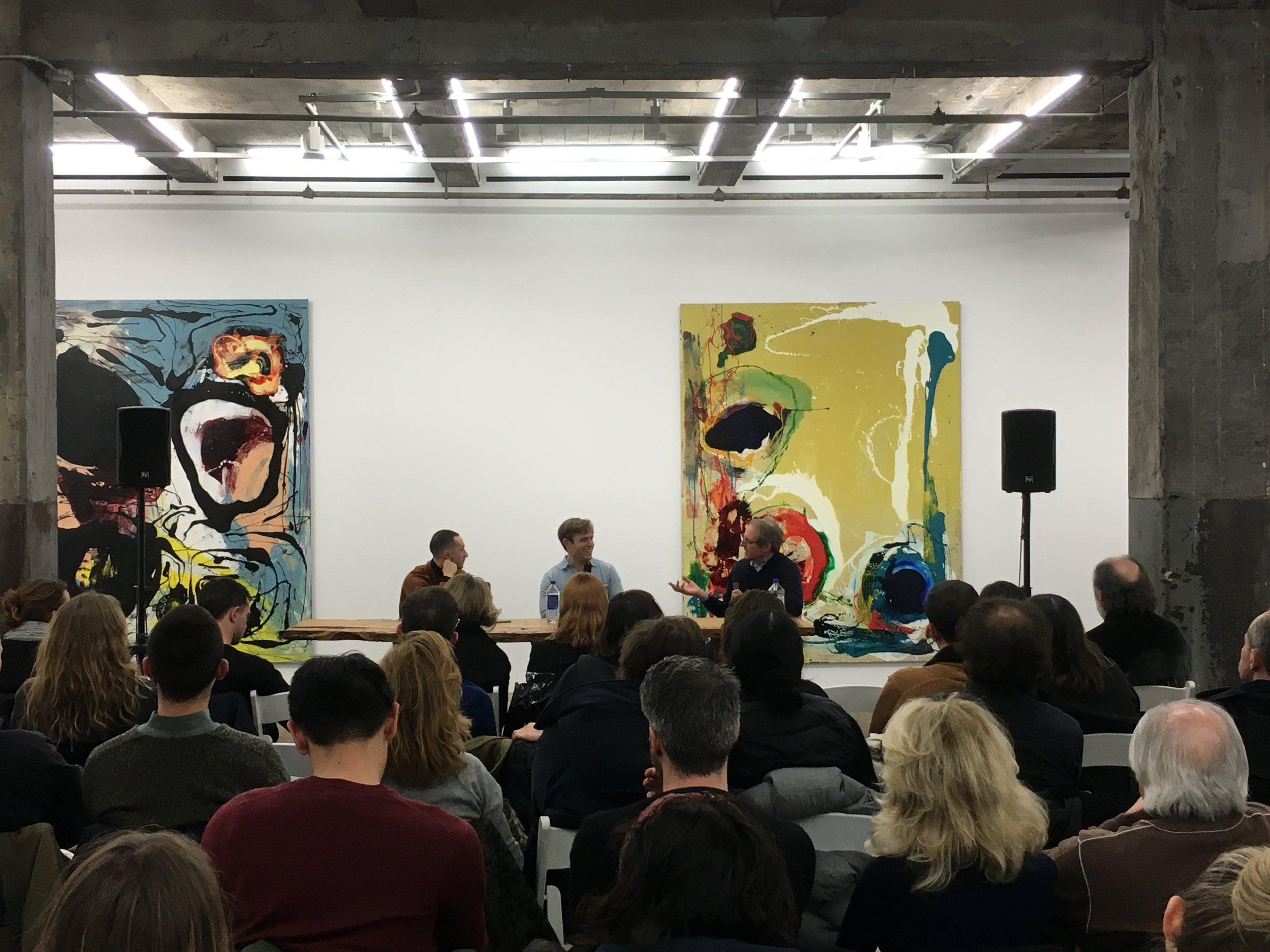 Audio for an artist talk