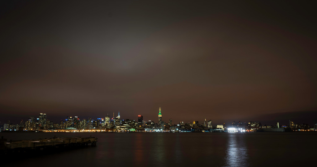 Taken from Hoboken, NJ looking at the Empire State Building.