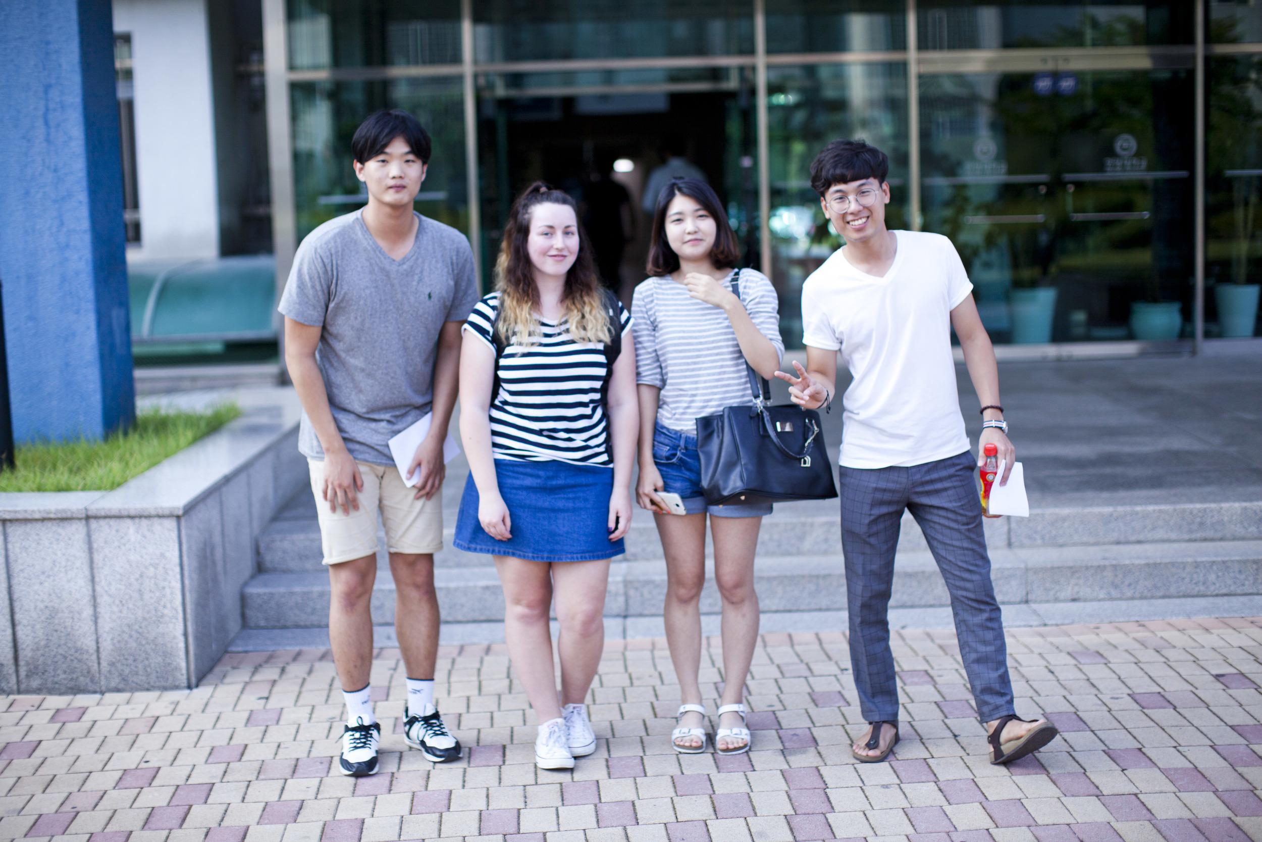 Song Min, Liz, Myeong Hui and Sung Bae