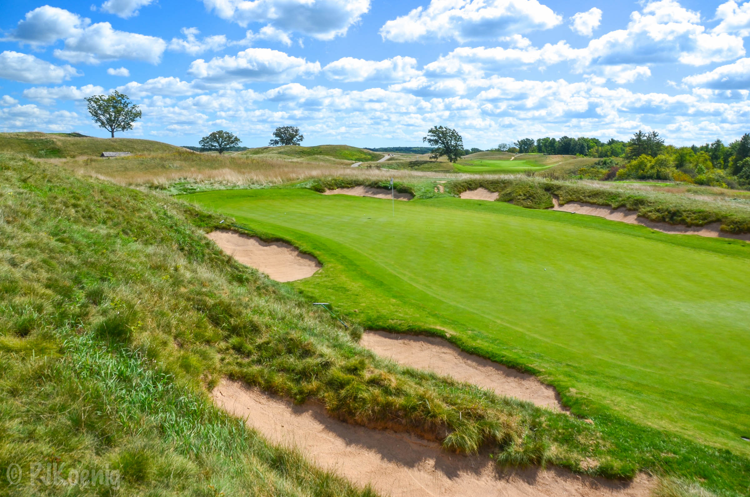 the 16th hole at Erin Hills figures to be a pivotal hole in the 2017 U.S. Open.