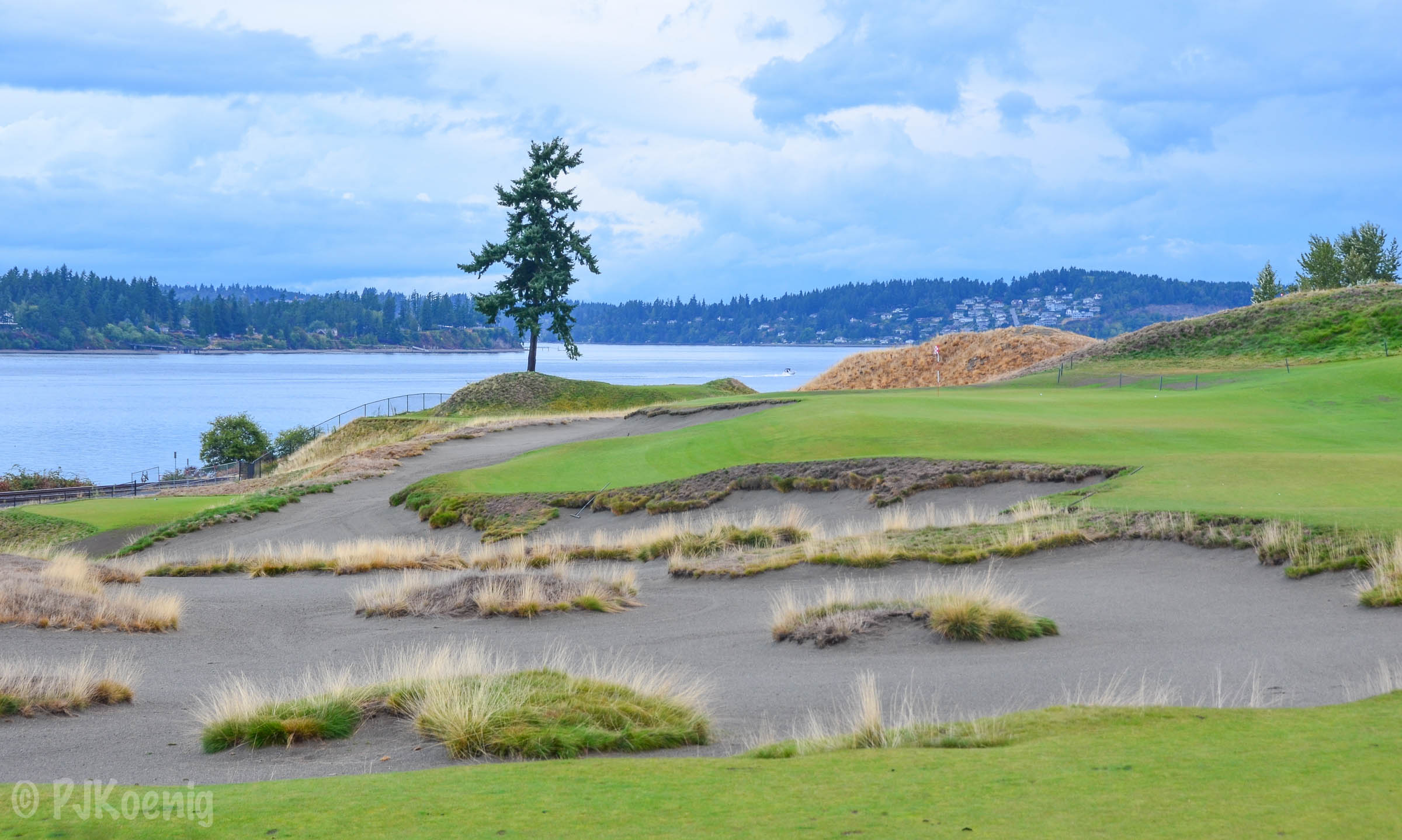 After hosting the US Open in 2015, Chambers Bay comes in at #26