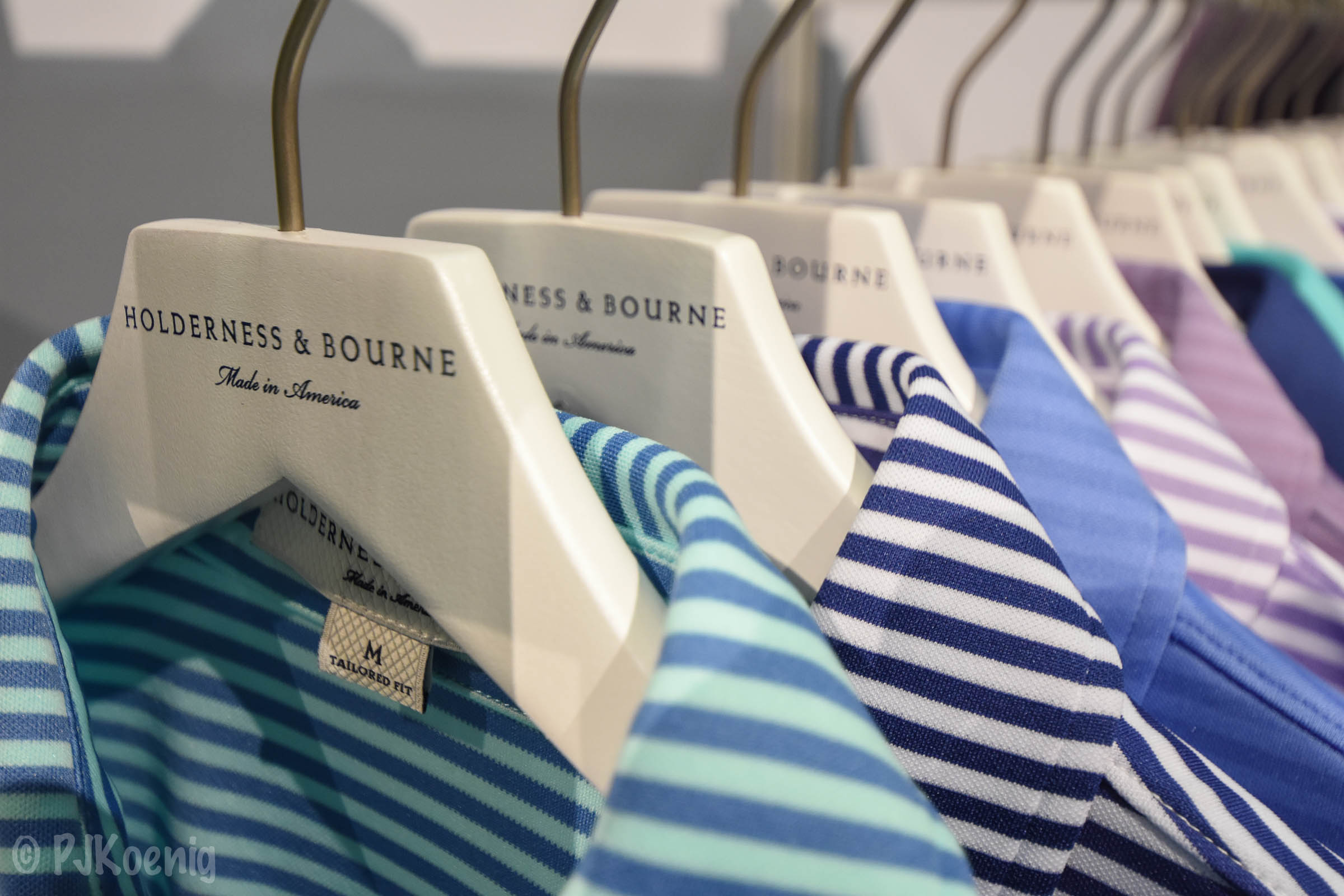 First time PGA show residents,  Holderness & Bourne  have some of the finest golf polos around. You'll have to wait until March to get these babies.