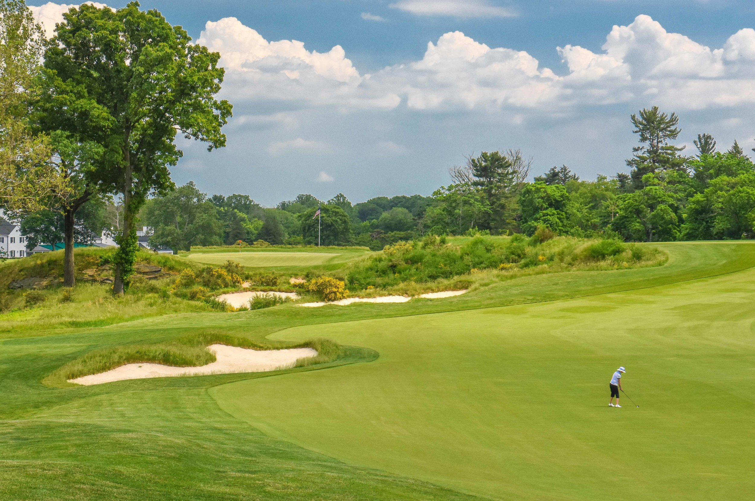 """It was the men vs the women for an all out death match at Merion. Sean and i would succumb to the rough and suffer a devastating defeat in what would later be coined """"The Massacre at Merion"""""""