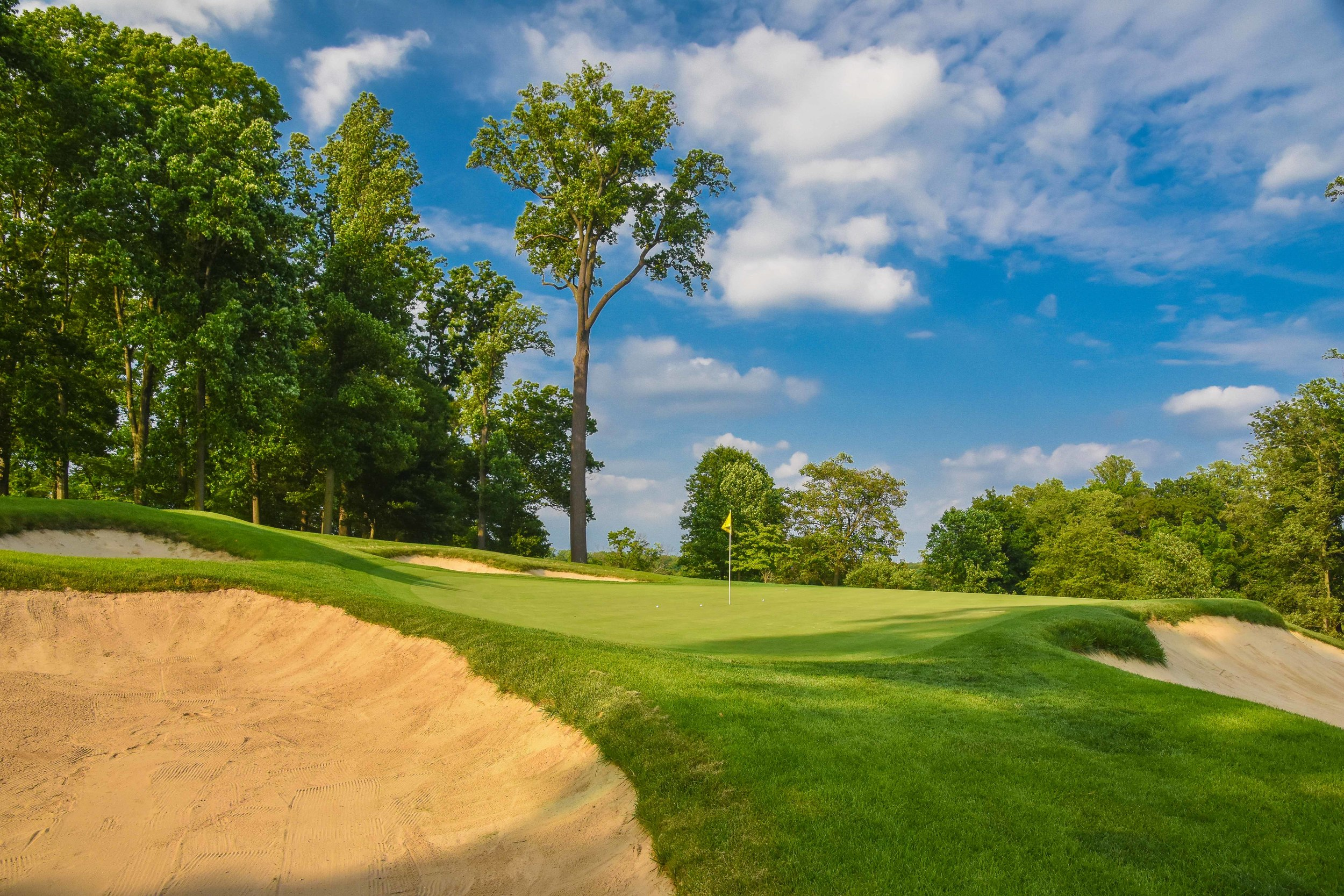 Our round at Rolling Green would go into extra holes as we upgraded from 18 to 27.