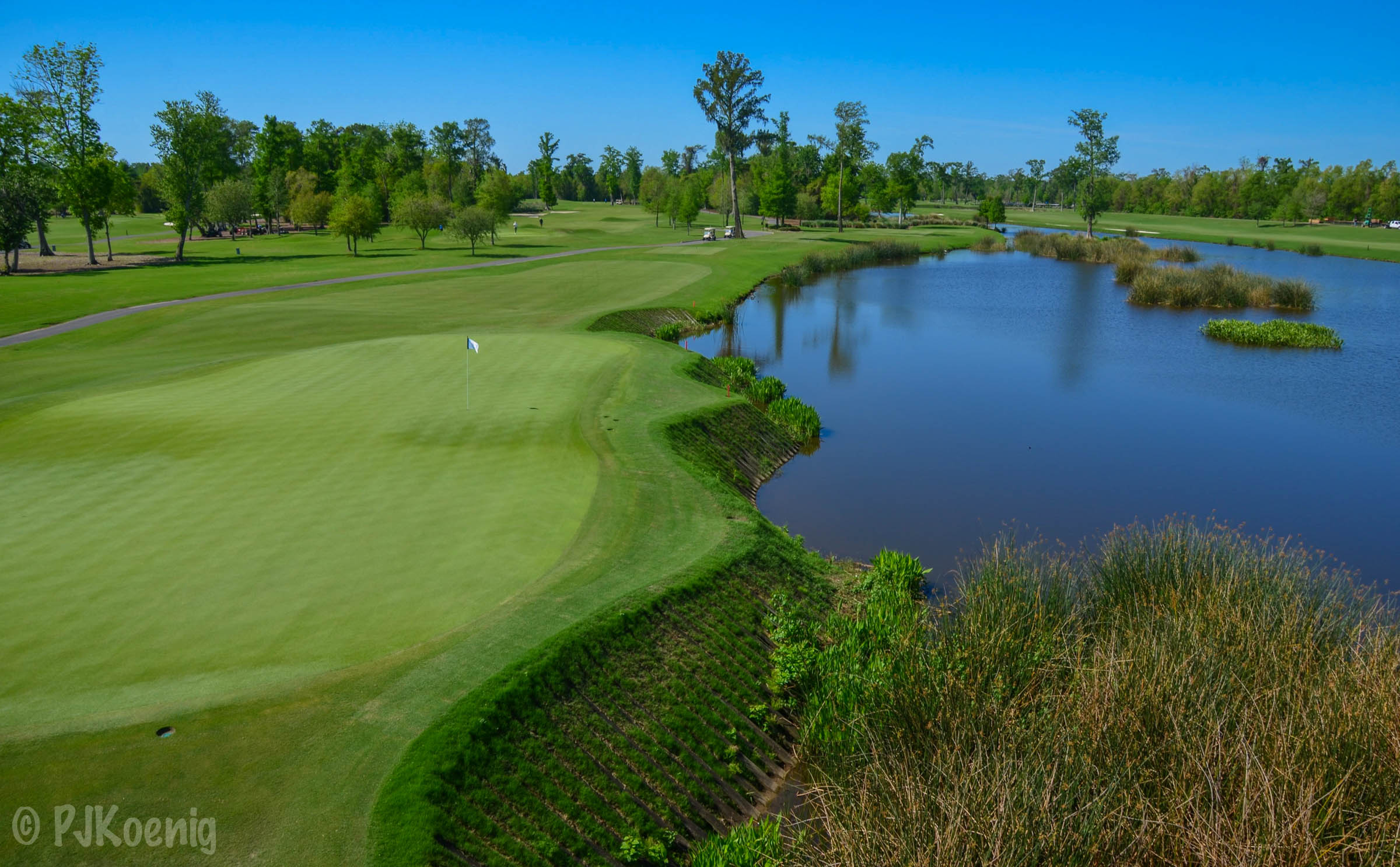 The difficult 9th at TPC Louisiana