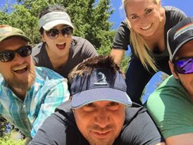 Pile up at the JTC30 Golf Tournament