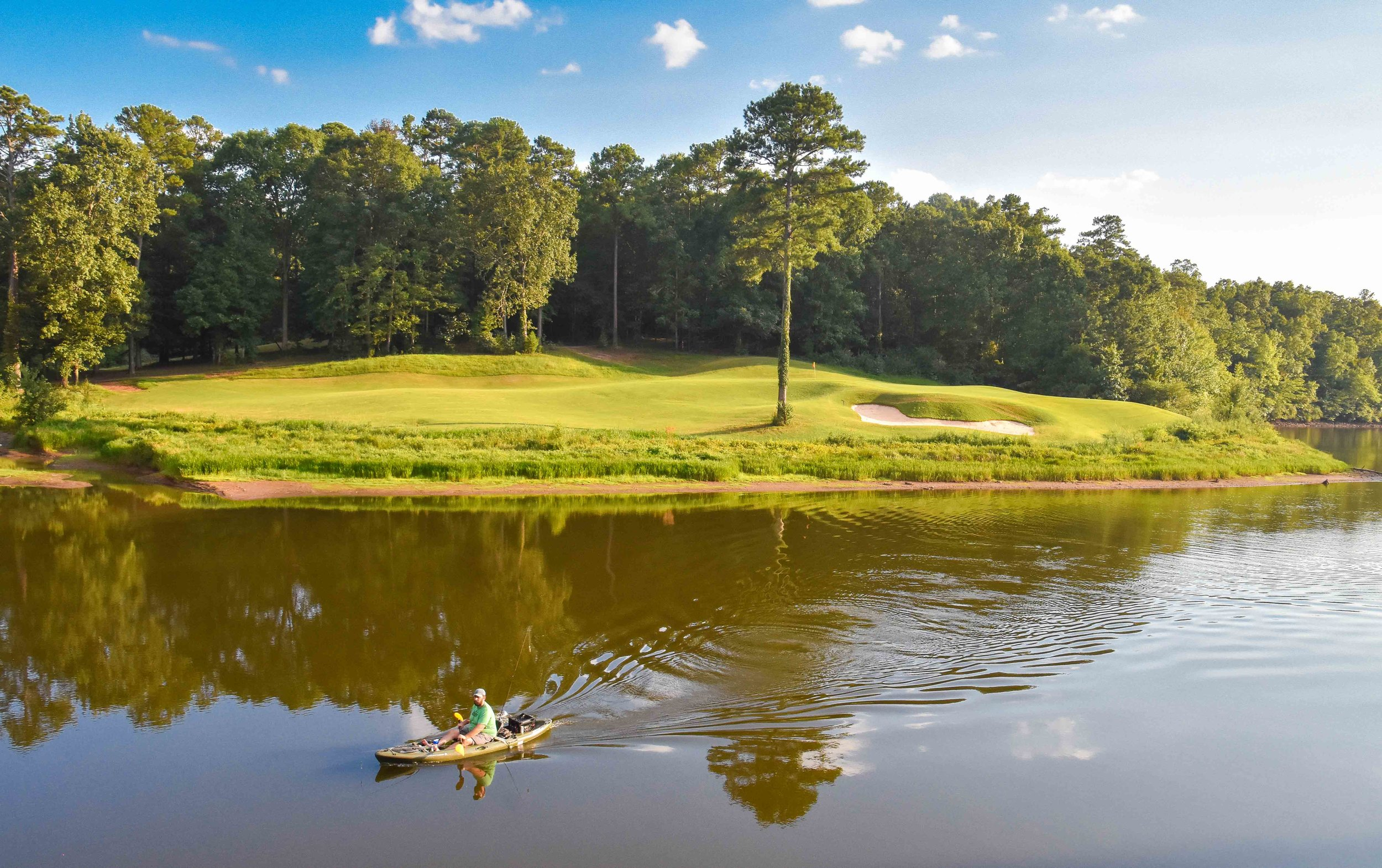 The 8th hole on the  Short Course  is just one of 18 outstanding par 3's.