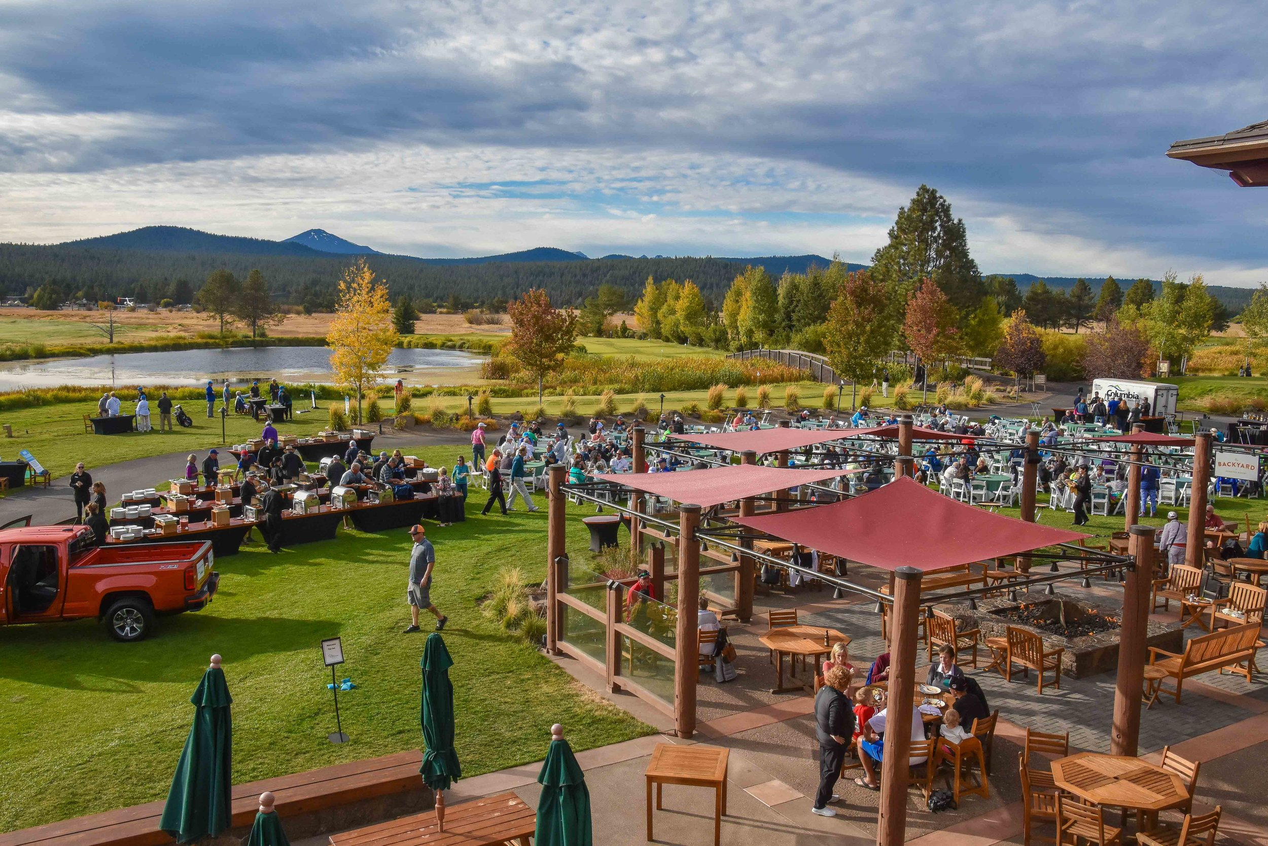 The Festival of Golf gets underway at the Sunriver Resort.
