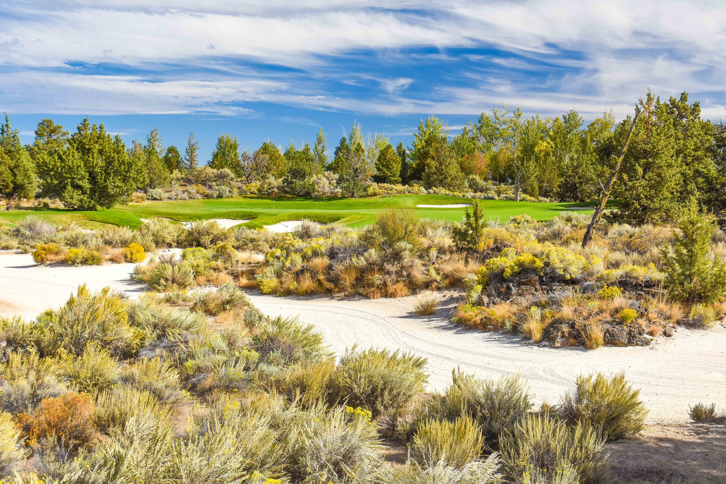 The 15th hole at Nicklaus' Pronghorn course