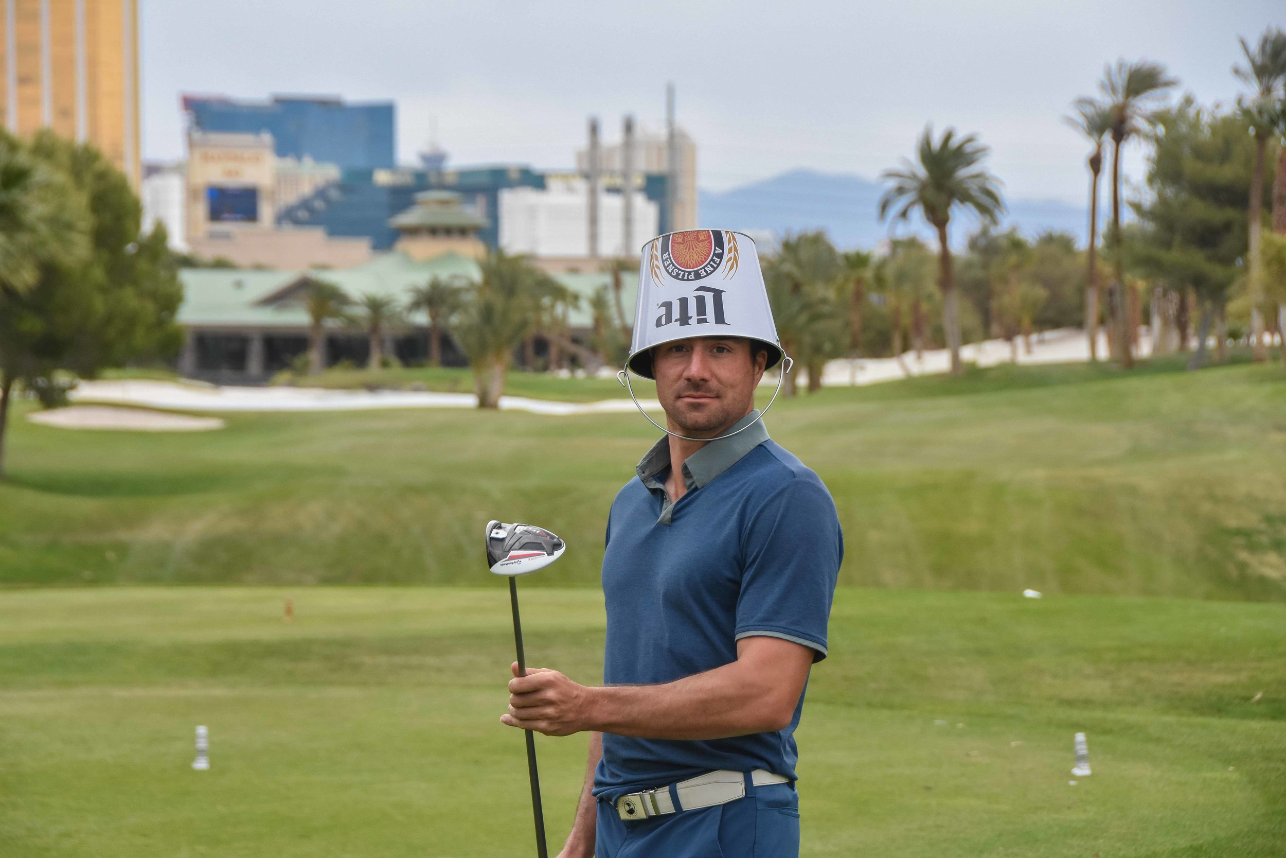 The 3 putt penalty hat lacks style and functionality