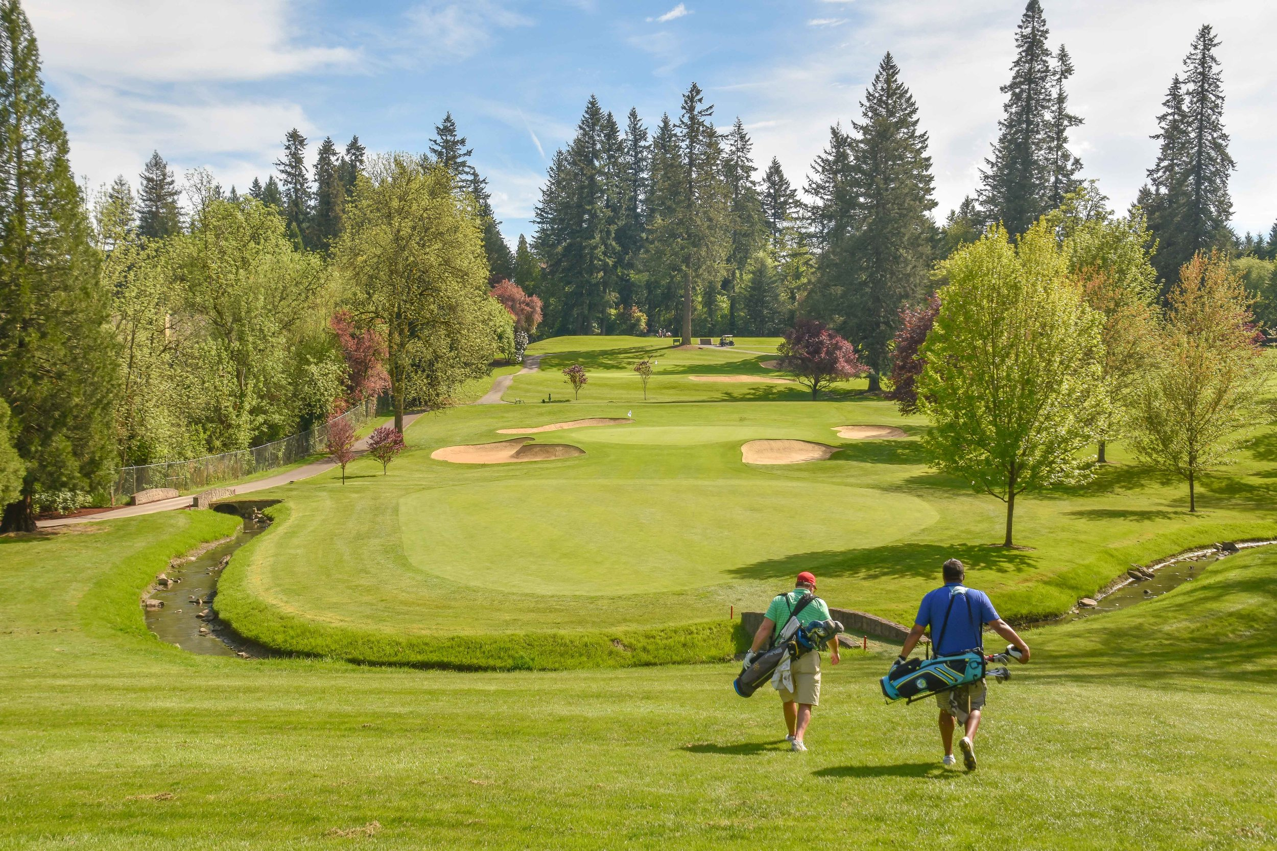 Portland Golf Club hosted the very first Eighty Club event.