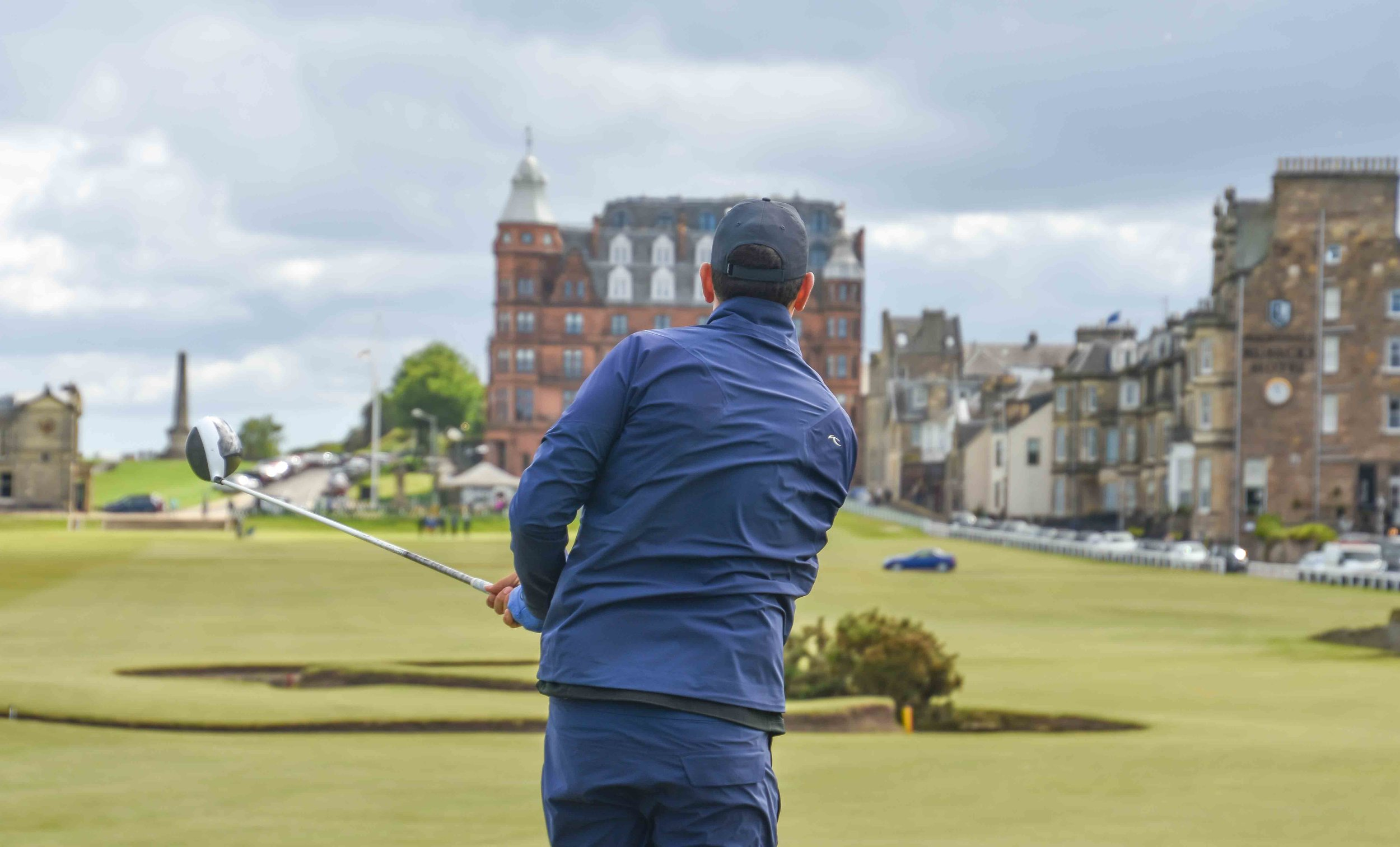 """Jeff Blind finds the green on 18! """"I will never forget this moment for the rest of my life."""""""
