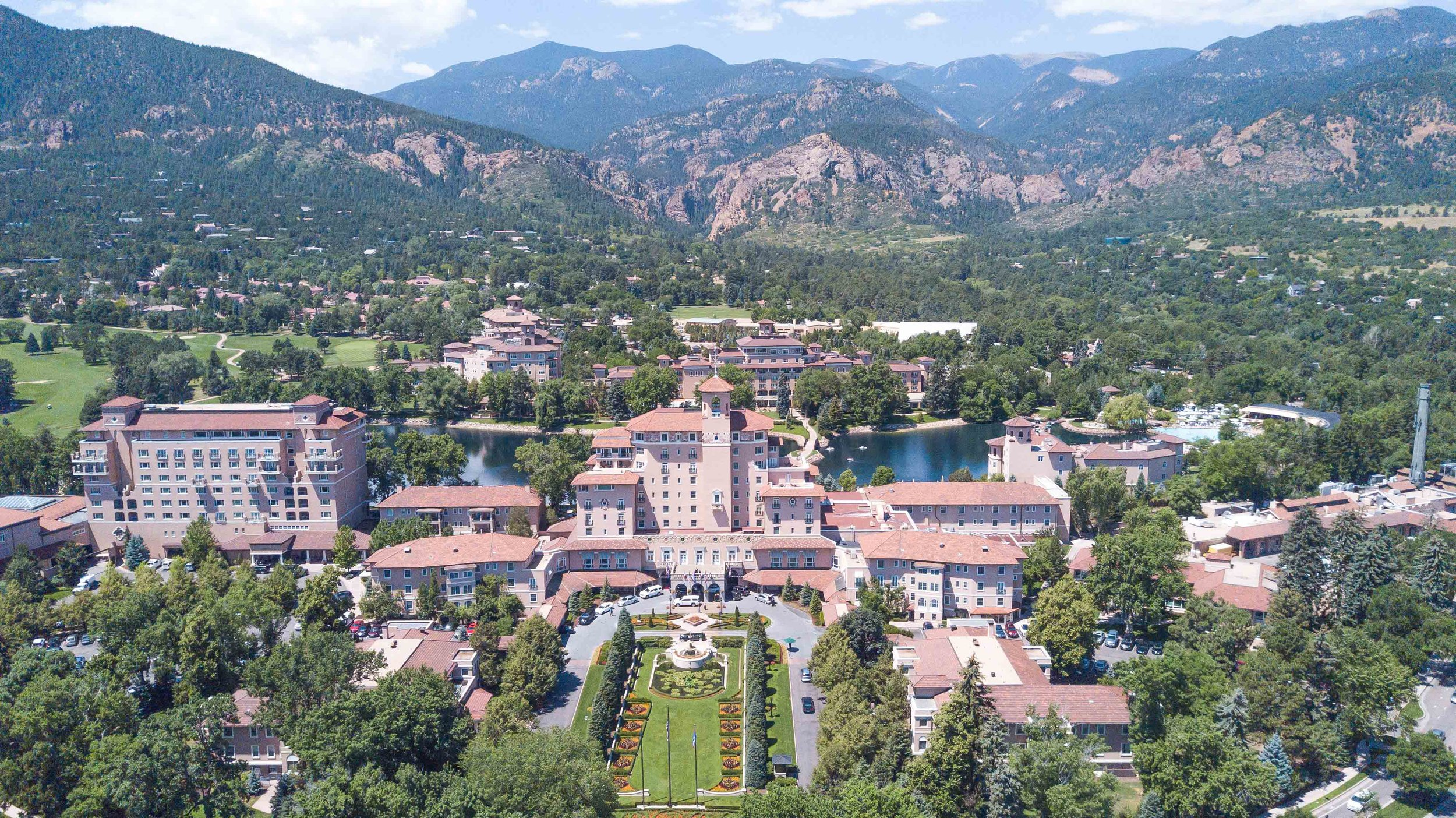 Originally established in 1918, The Broadmoor Hotel has 779 rooms.