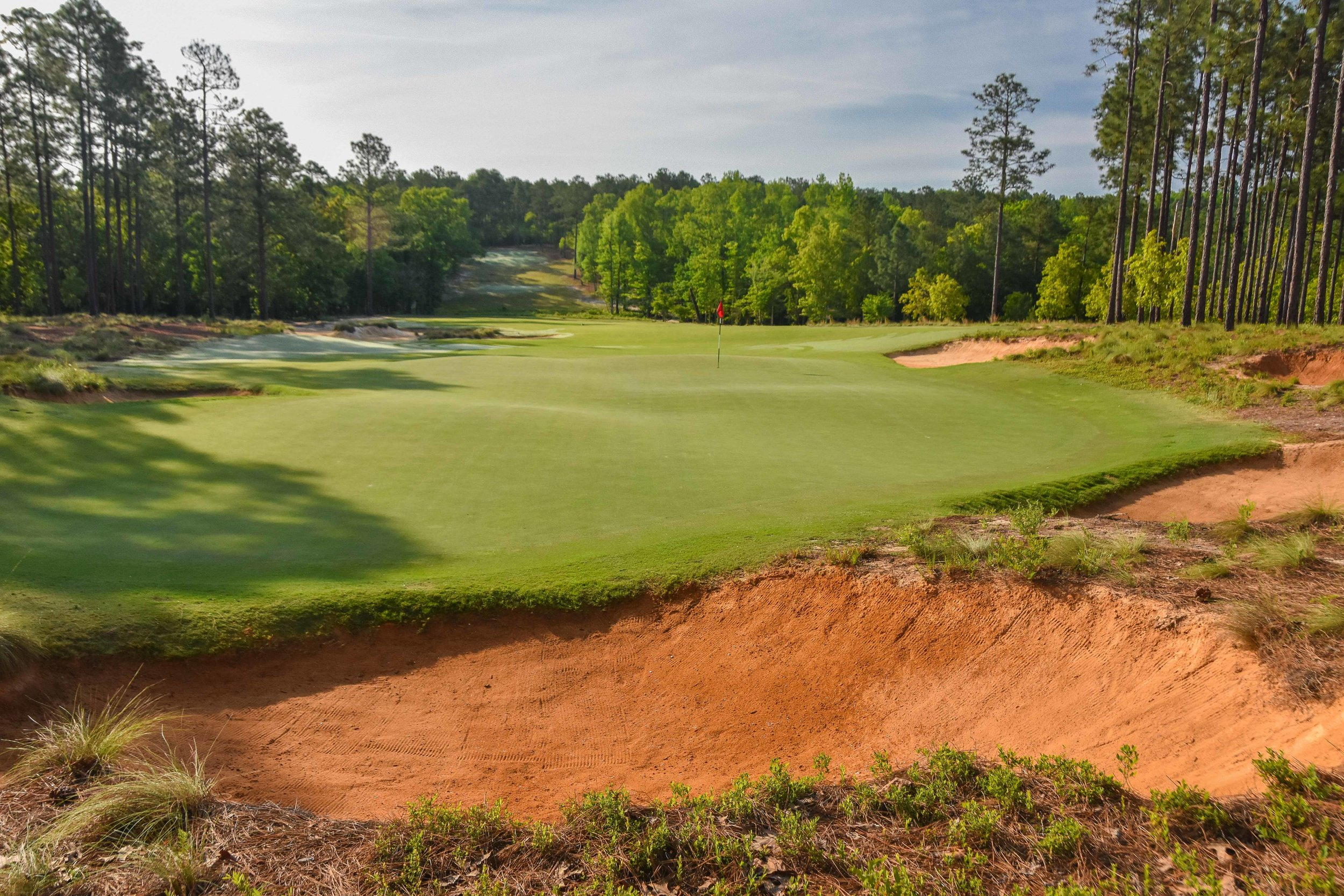 The Dormie Club  in West End, NC is a Coore and Crenshaw favorite.