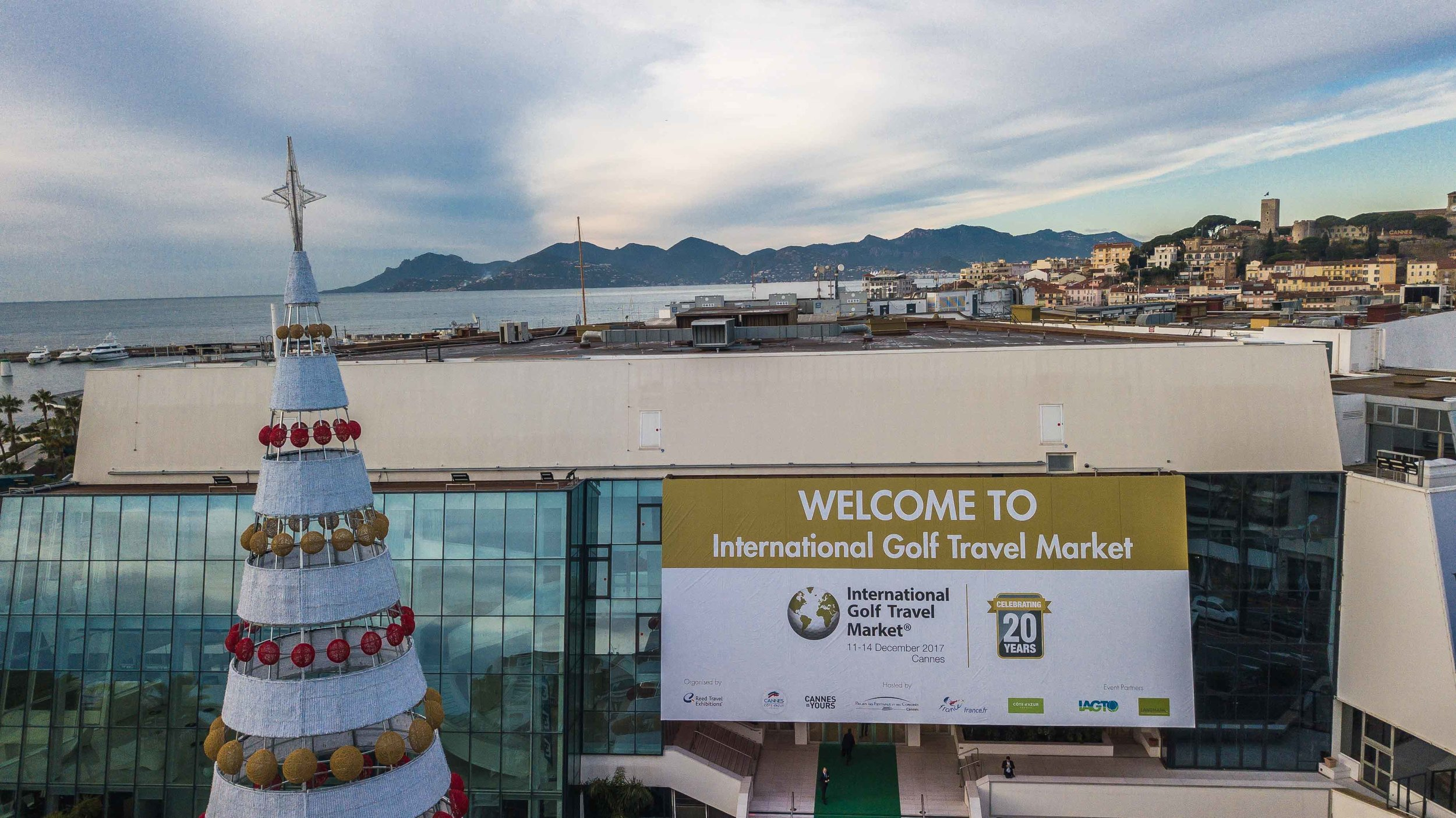 The IGTM took place in the The Palais des Festivals et des Congrès, the same venue as the Cannes Film Festival