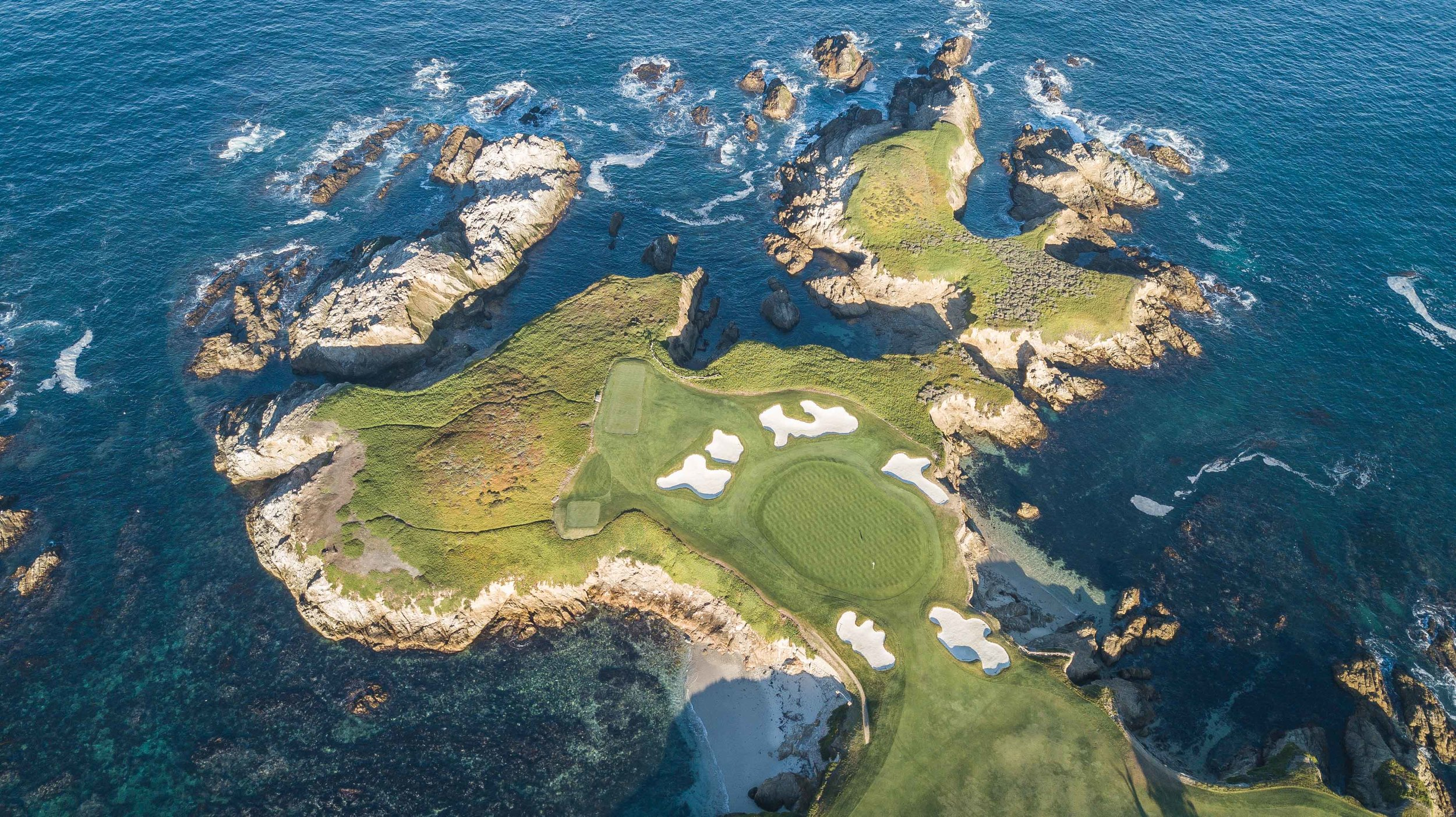 Cypress Point's 16th hole.