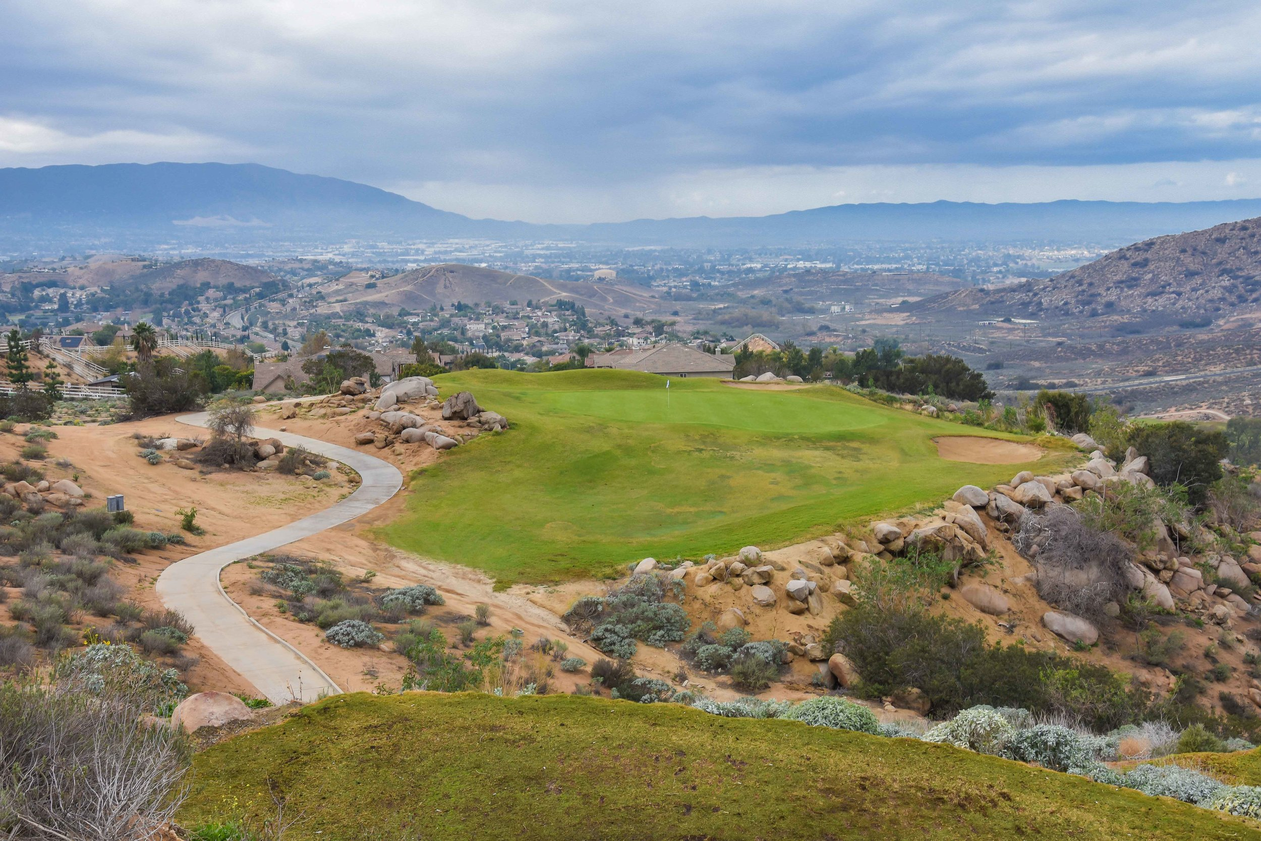 There are lots of great views and elevation changes at Hidden Valley.