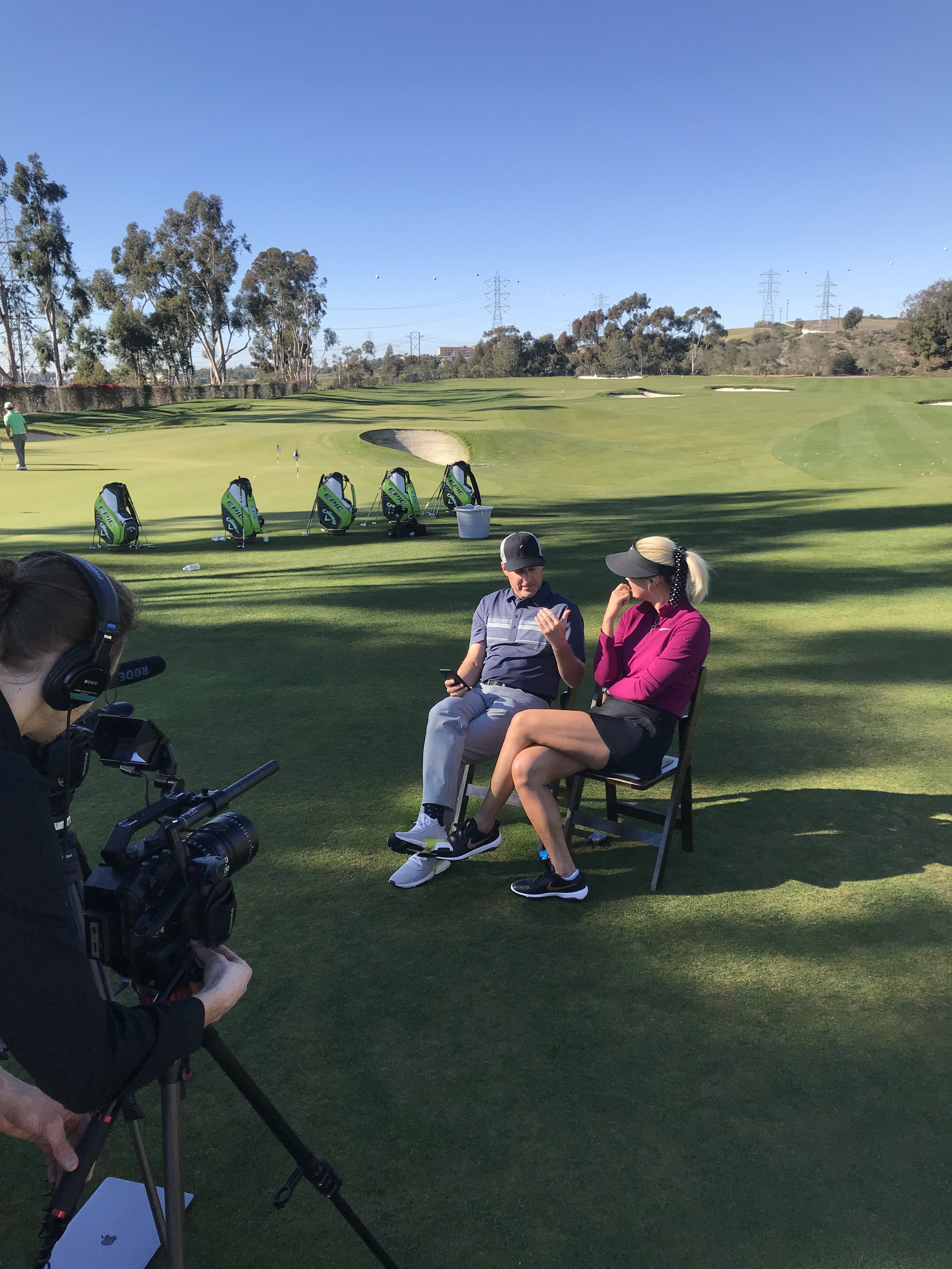 Michelle Wie and Chris Harrison sit down to discuss internet dating amongst other things.