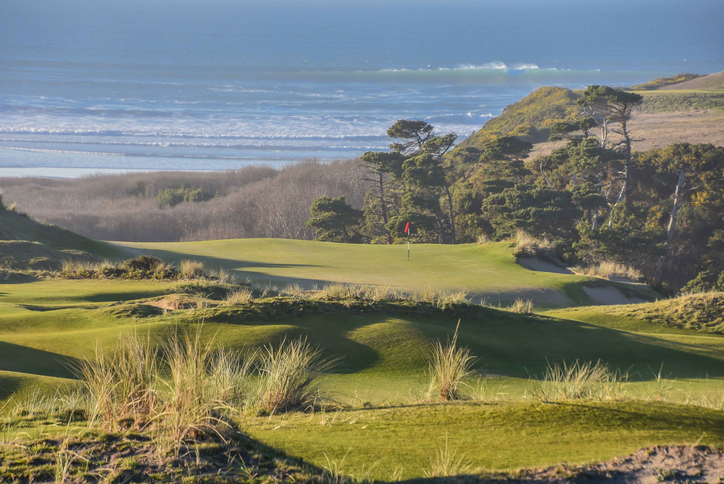 The 9th hole at Bandon Preserve