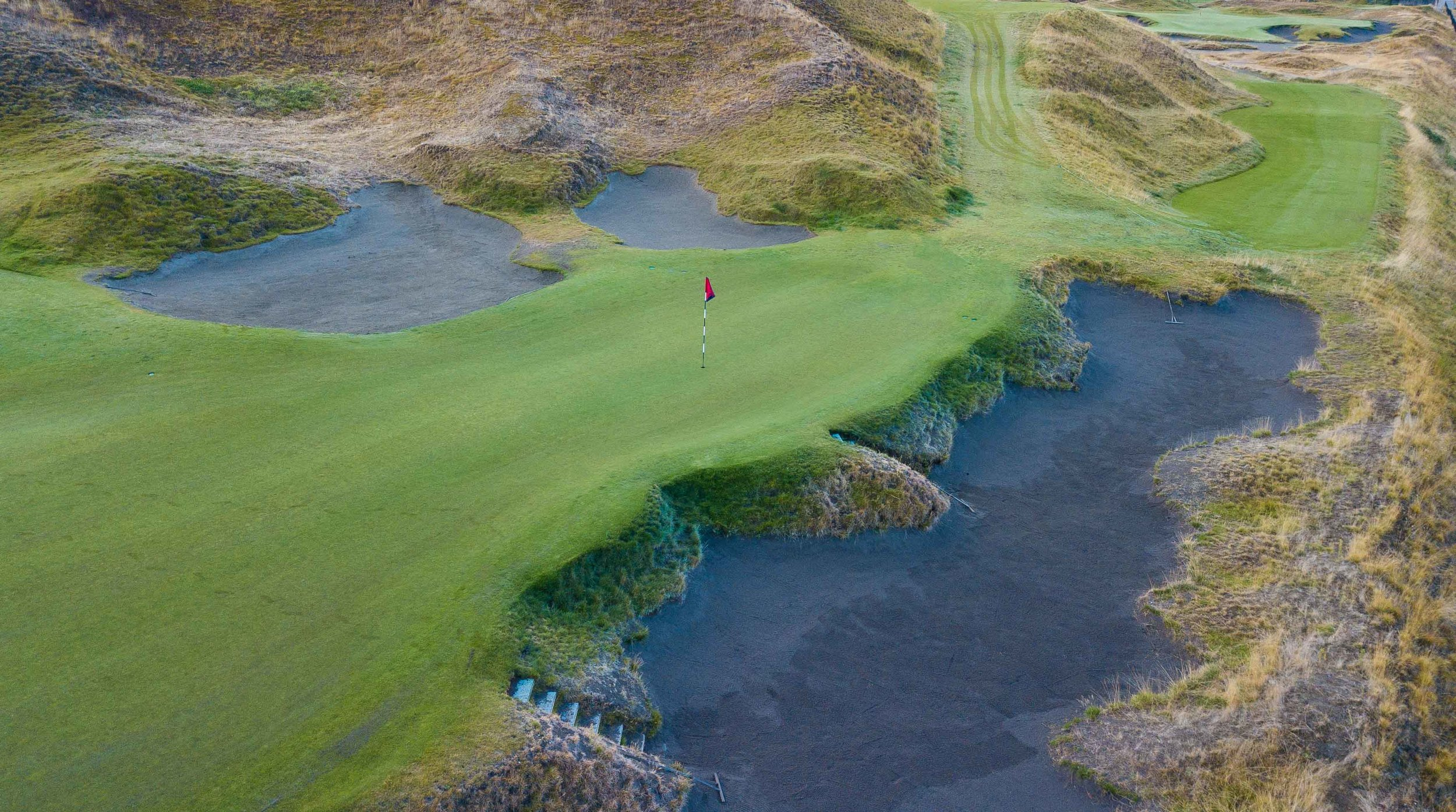 The kickoff event at Chambers Bay