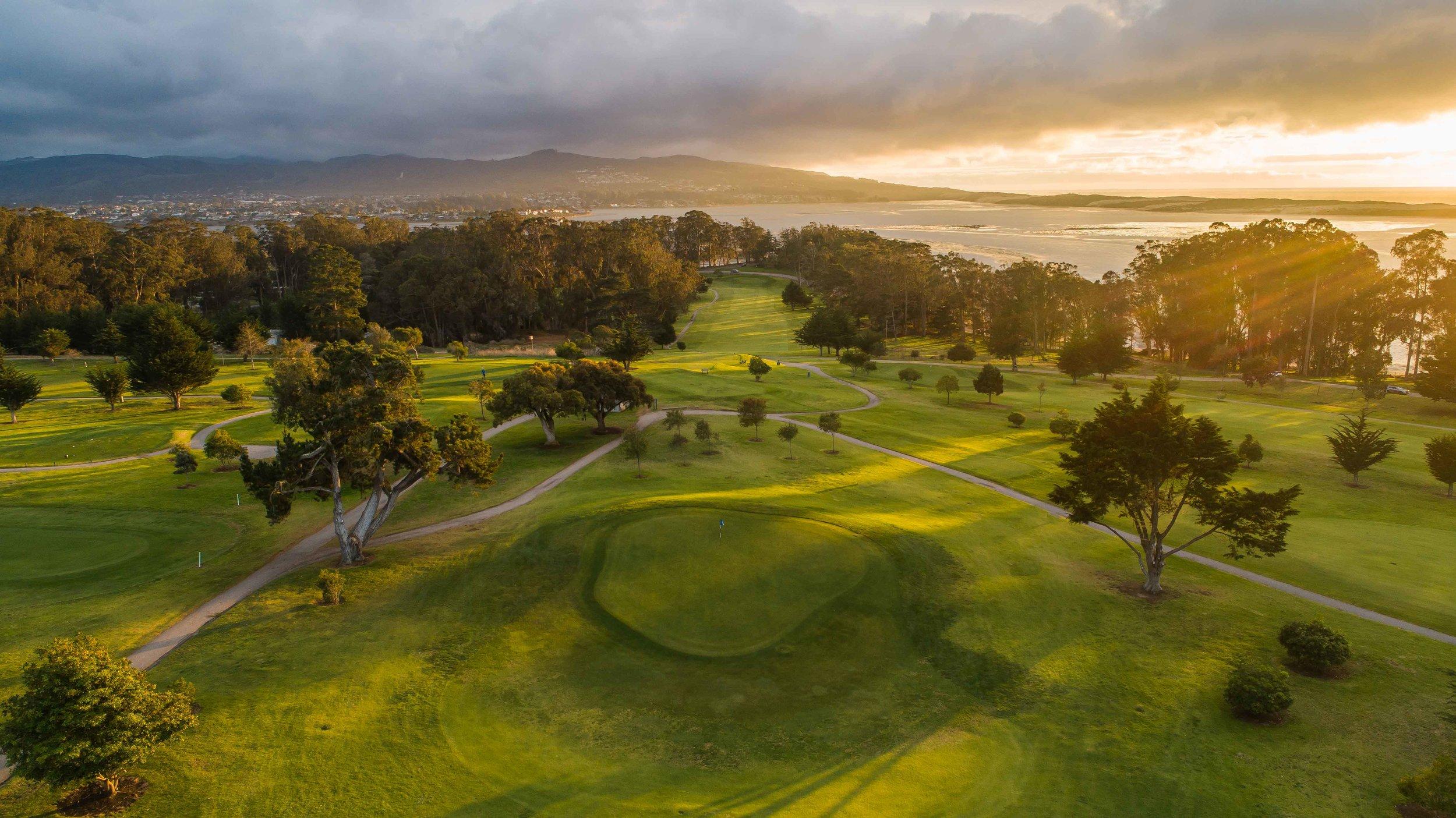 Morro Bay Golf Course in California