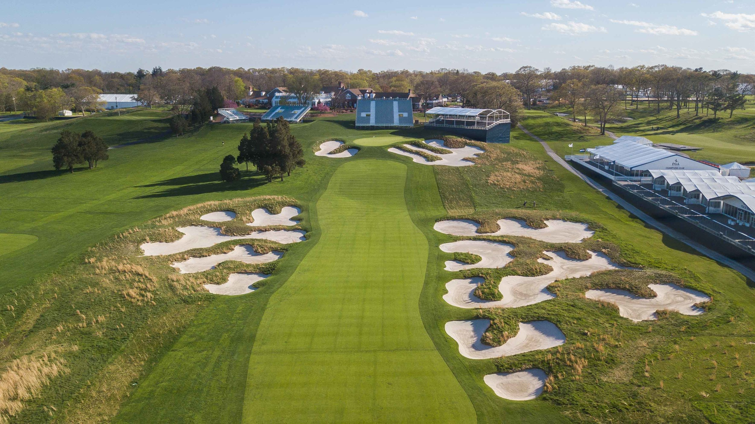 Bethpage Black prepares for the 2019 PGA Championship