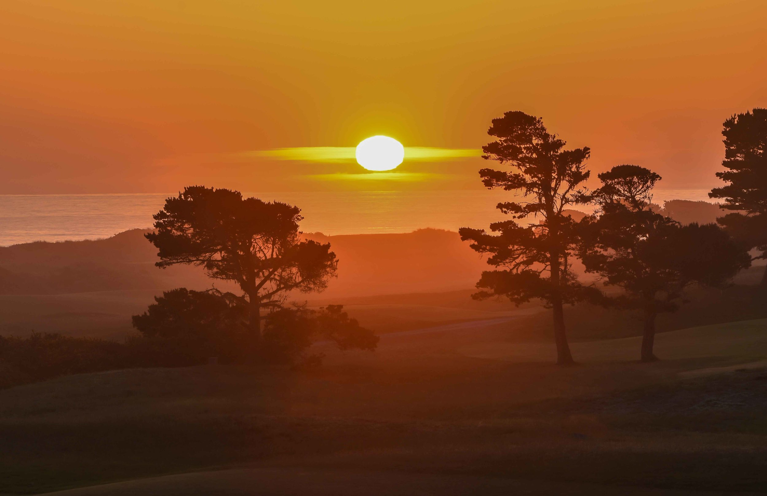 There a few things as satisfying as the sun setting over Bandon Dunes.