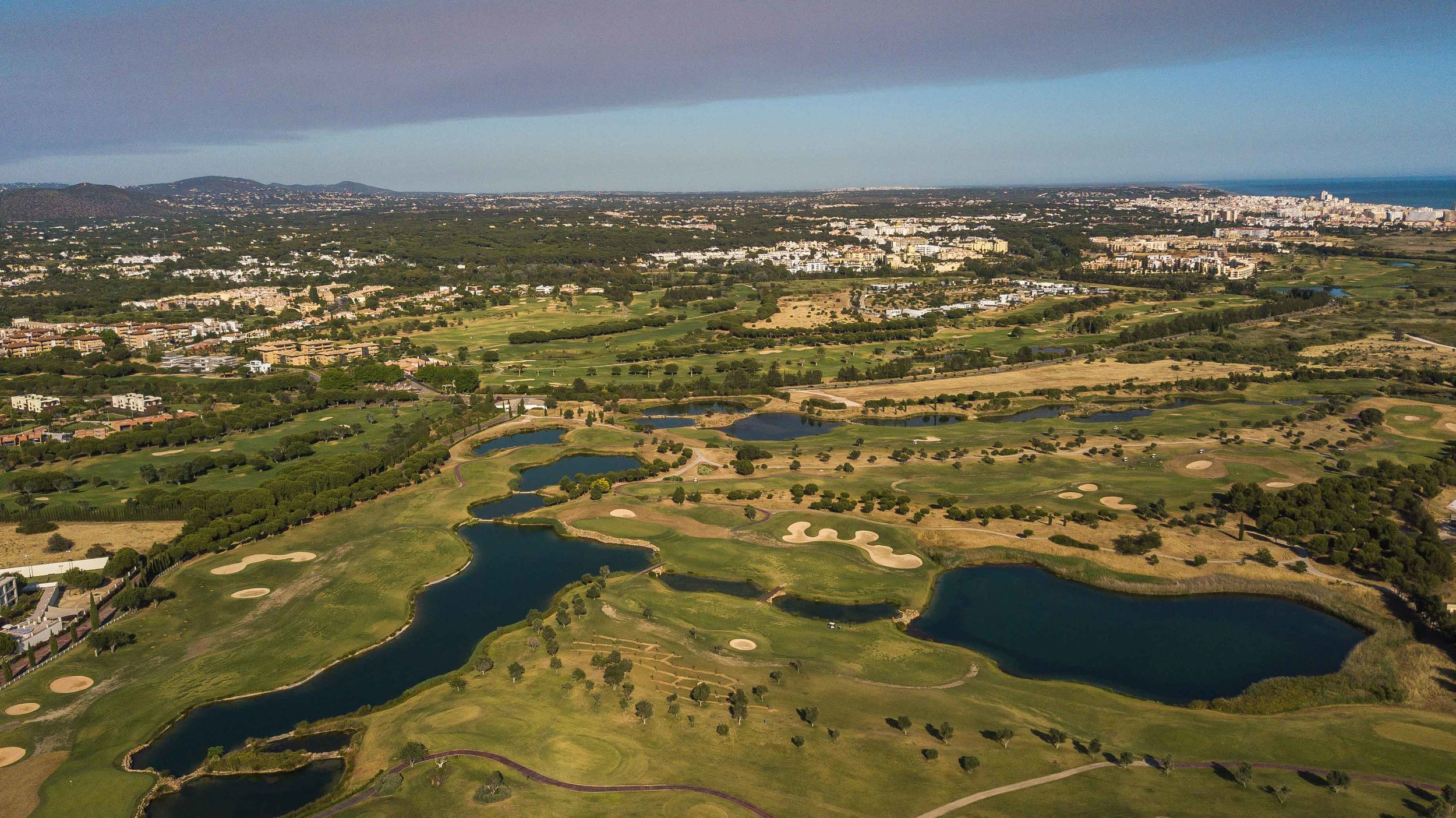 From above Dom Pedro Golf