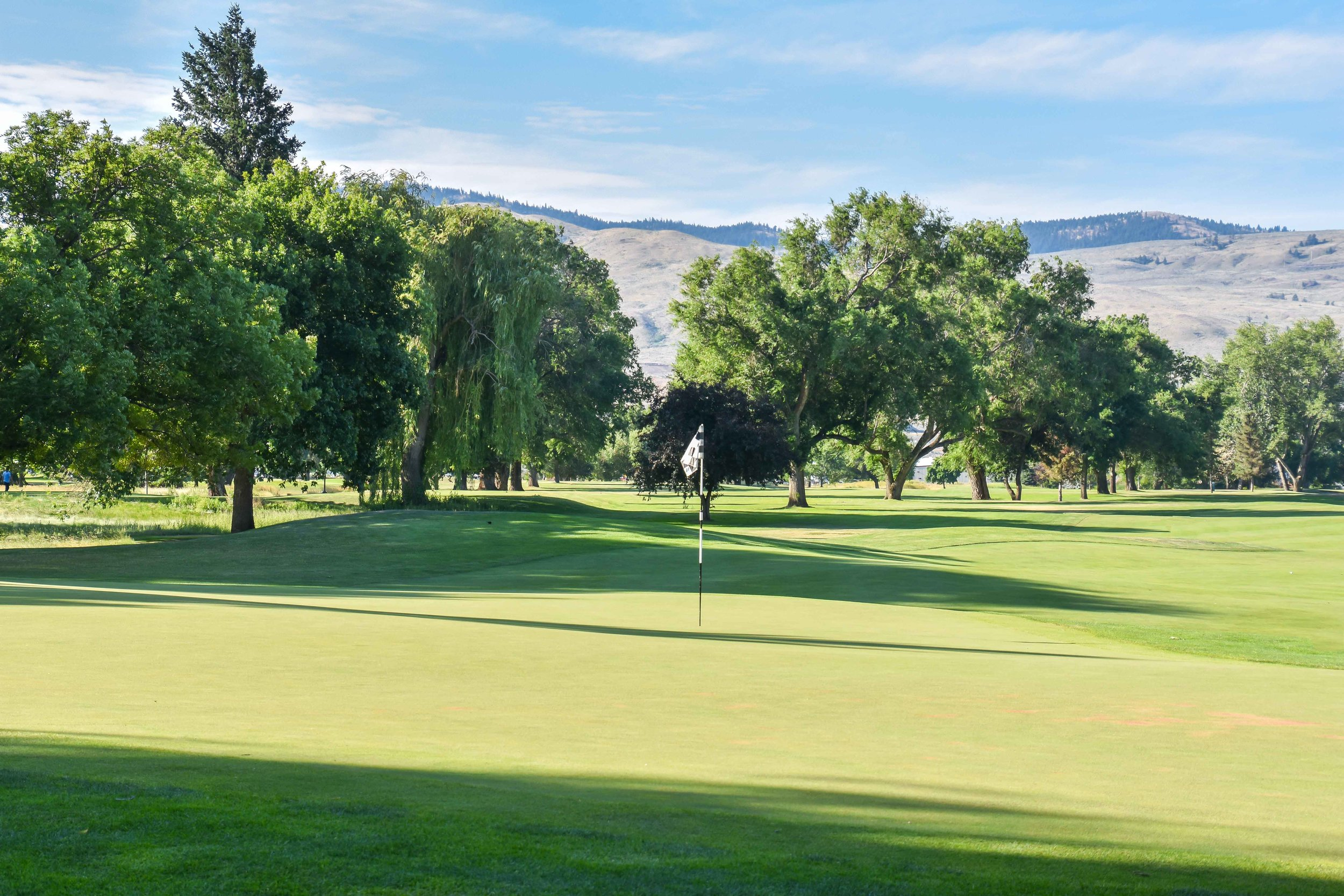 The 9th hole at Kamloops Golf & Country Club