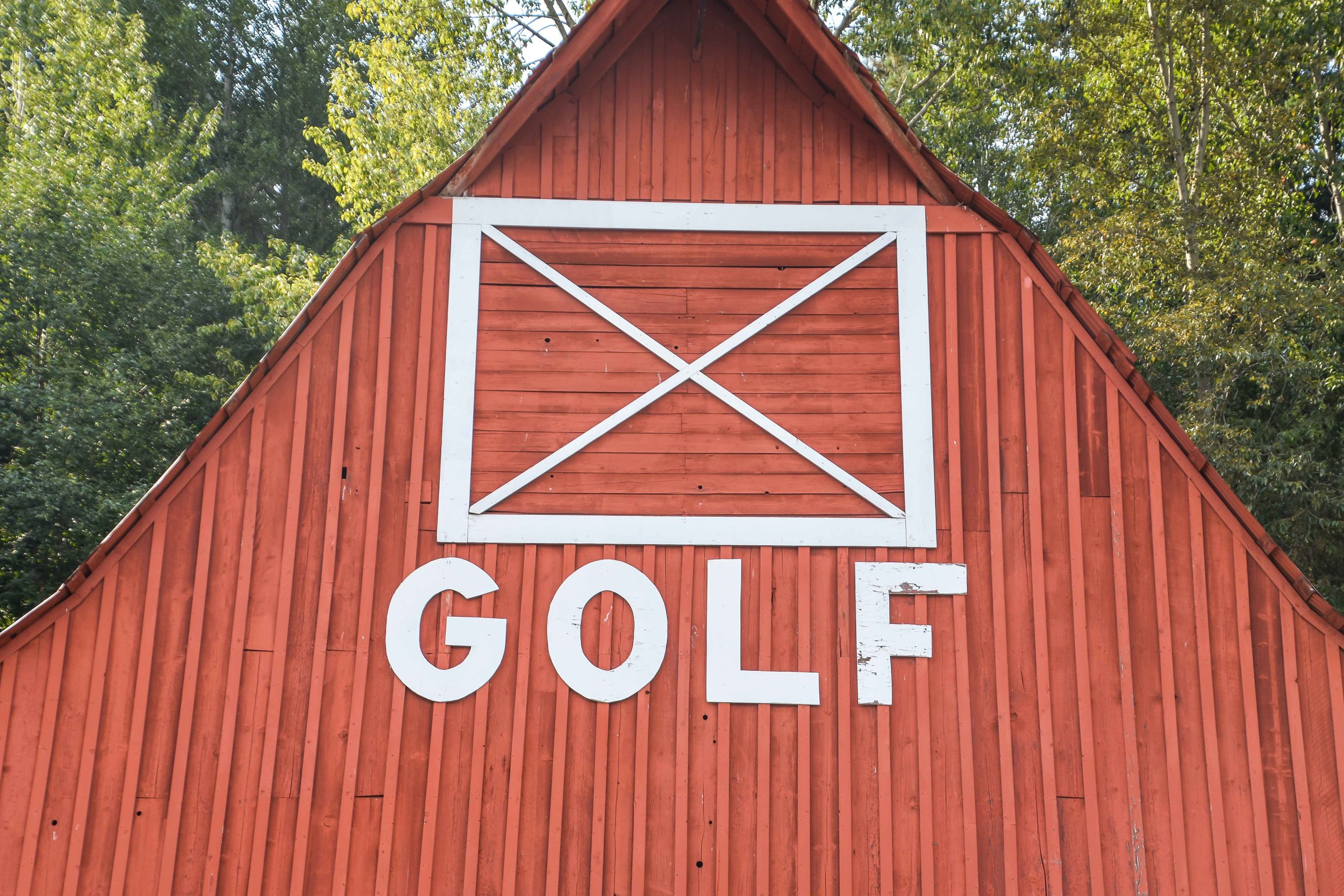 The current #1 golf barn is at Sun Country Golf Course in Cle Elum, WA