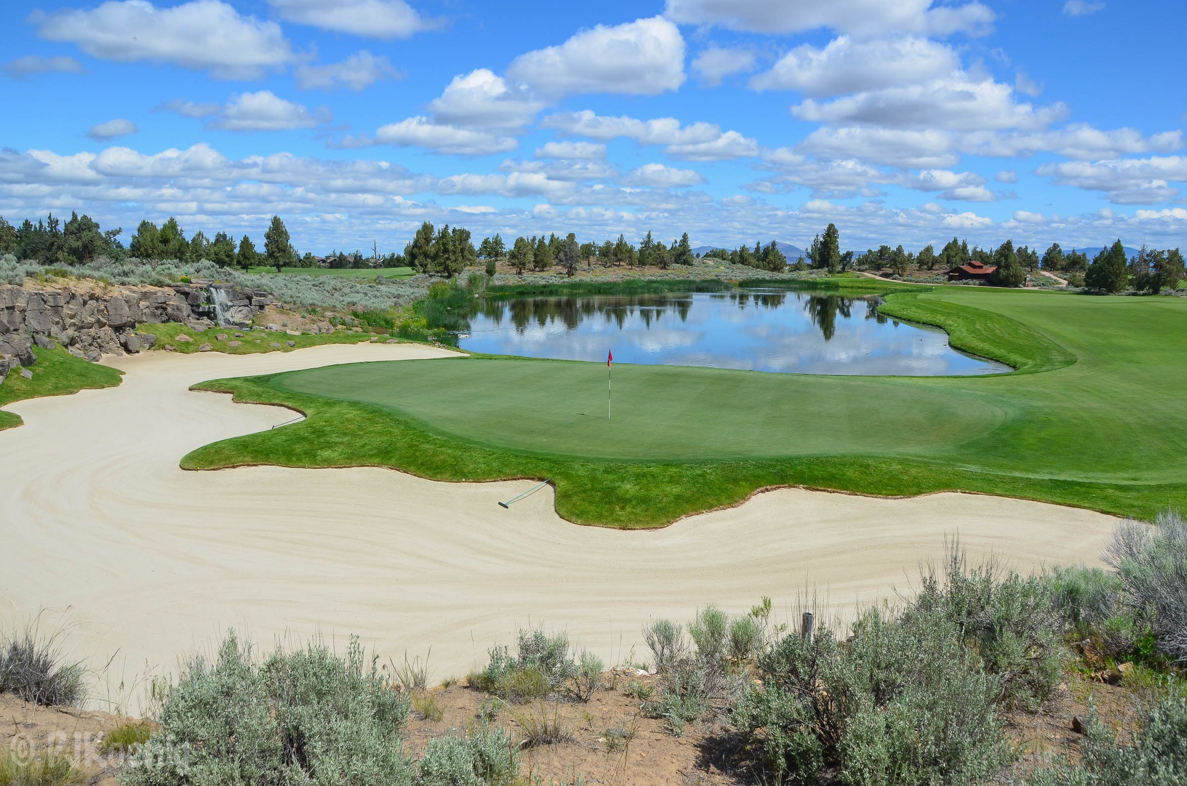 The Nicklaus Course at Pronghorn.