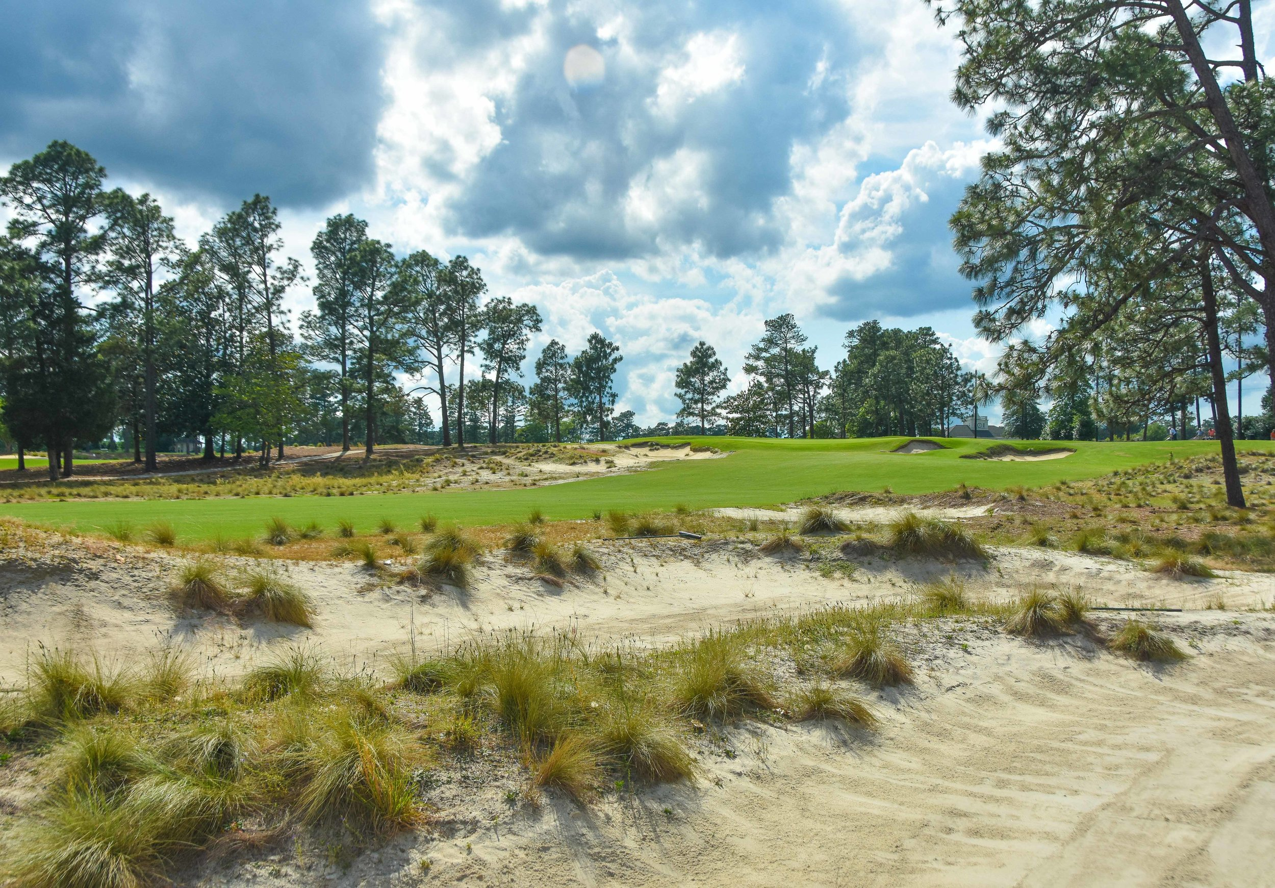 Pinehurst #2 has been returned to its sandy Ross roots.
