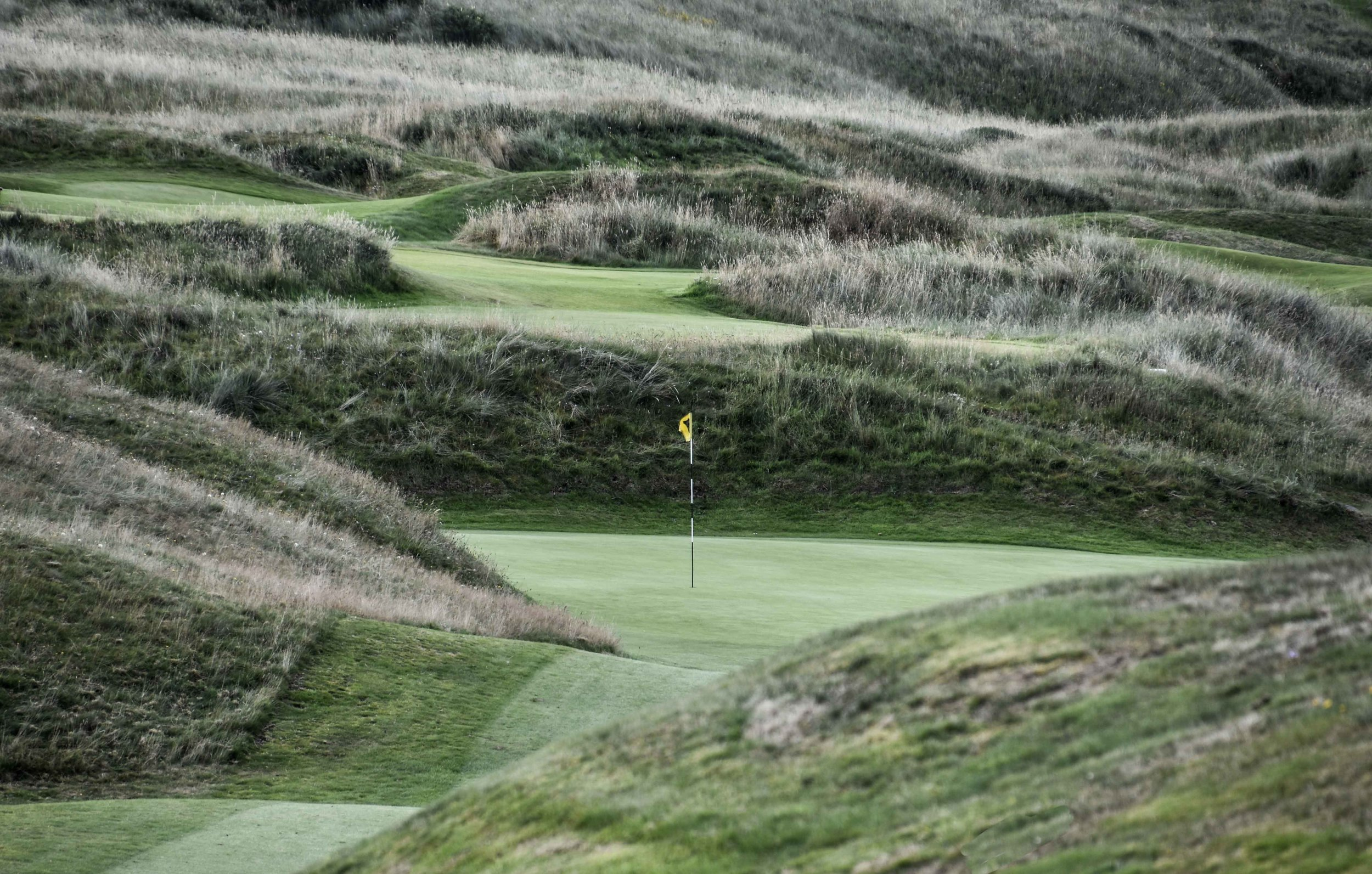 The 2nd hole at Miurcar. Shameless plug: I would hit my 2nd shot to 3 feet right after I took this photo.
