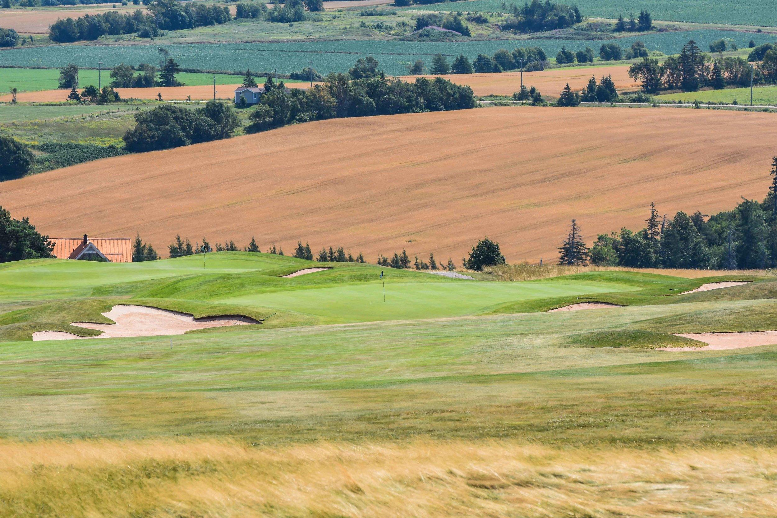 The 2nd hole at Glasgow Hills Golf Club