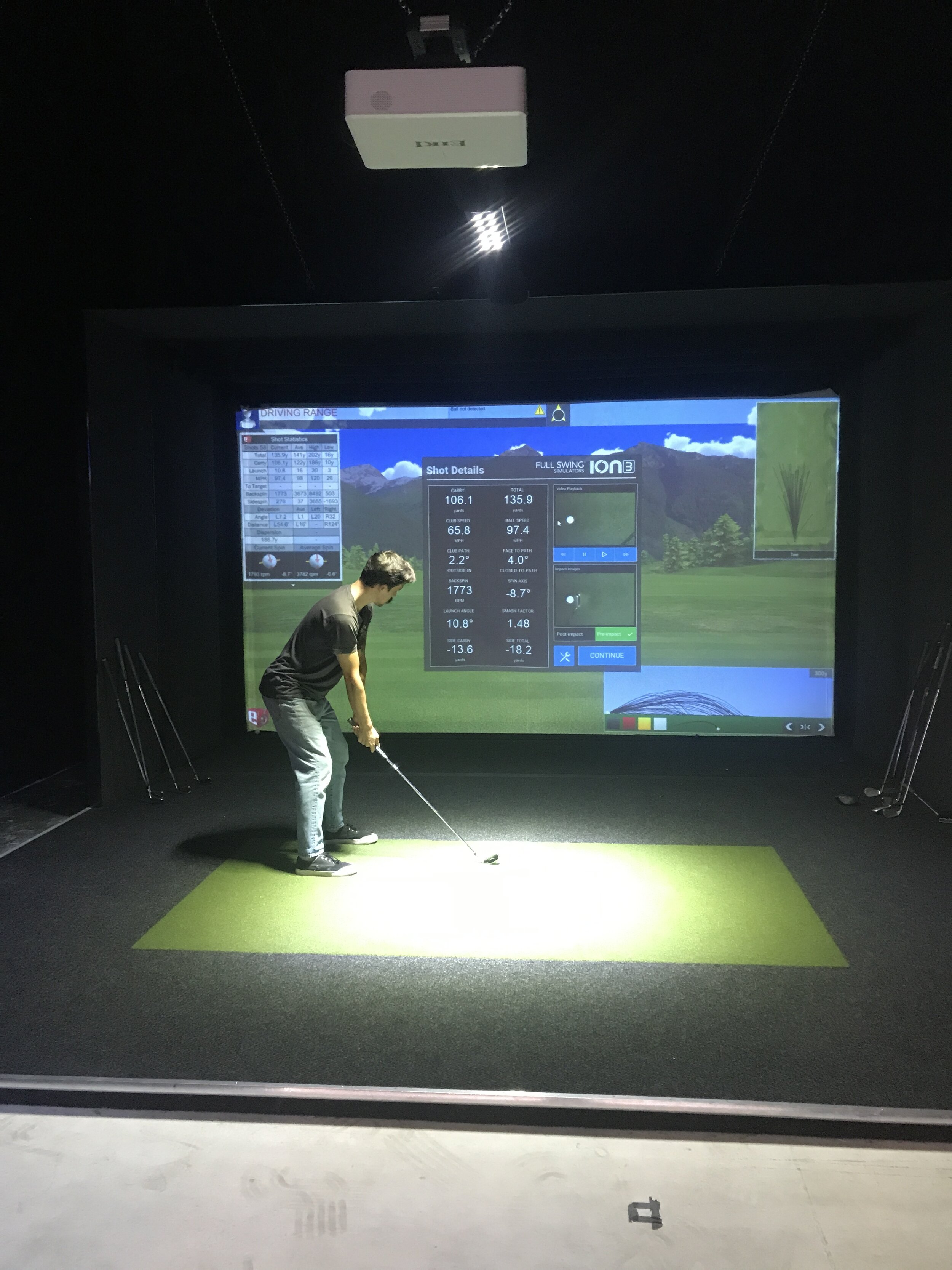 The potential to play Oakmont on your lunch break was too much for me to resist. I am looking forward to simulator Fridays on Instagram.