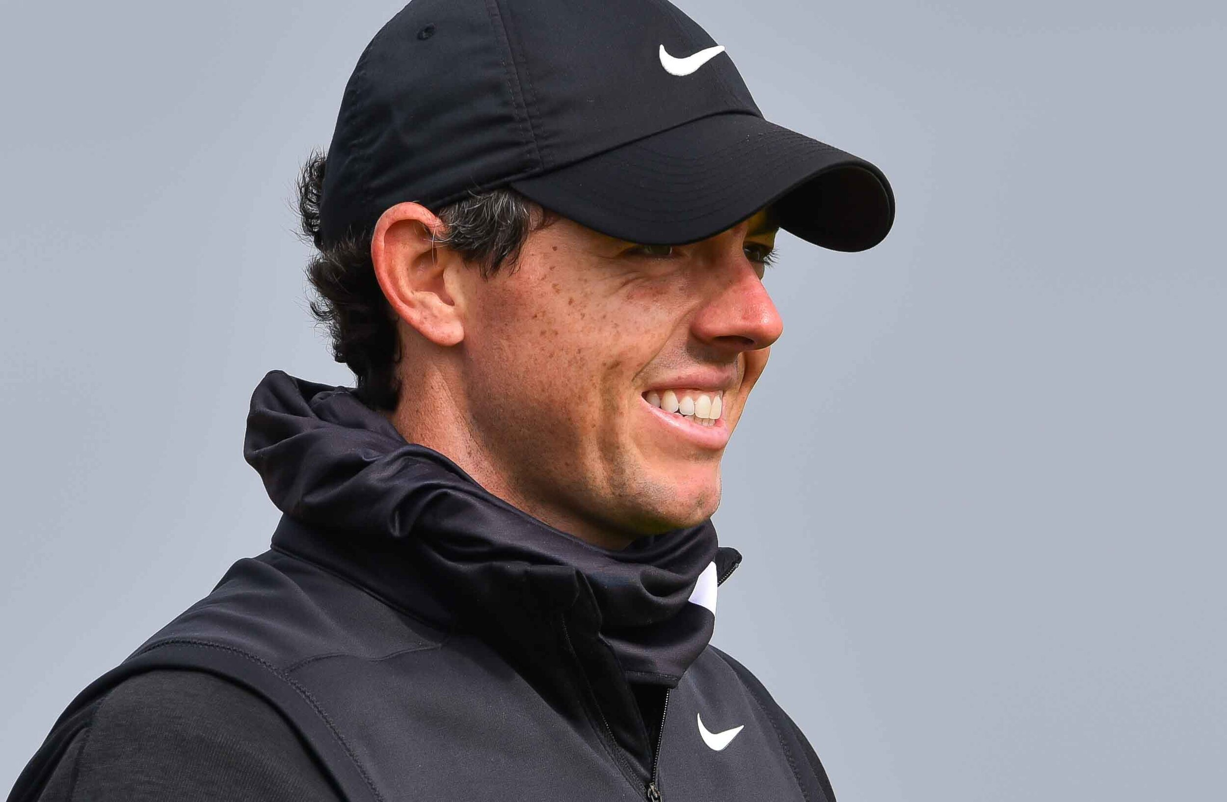 Rory's face when he was told that Patrick Koenig was in town to cover the 2019 Dunhill.