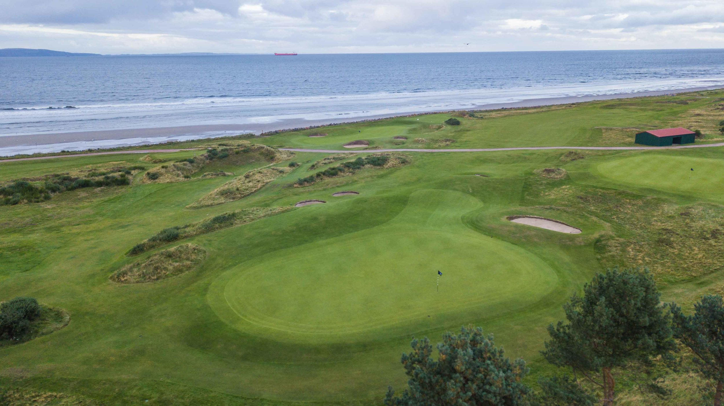 The 3rd hole at Nairn Golf Club