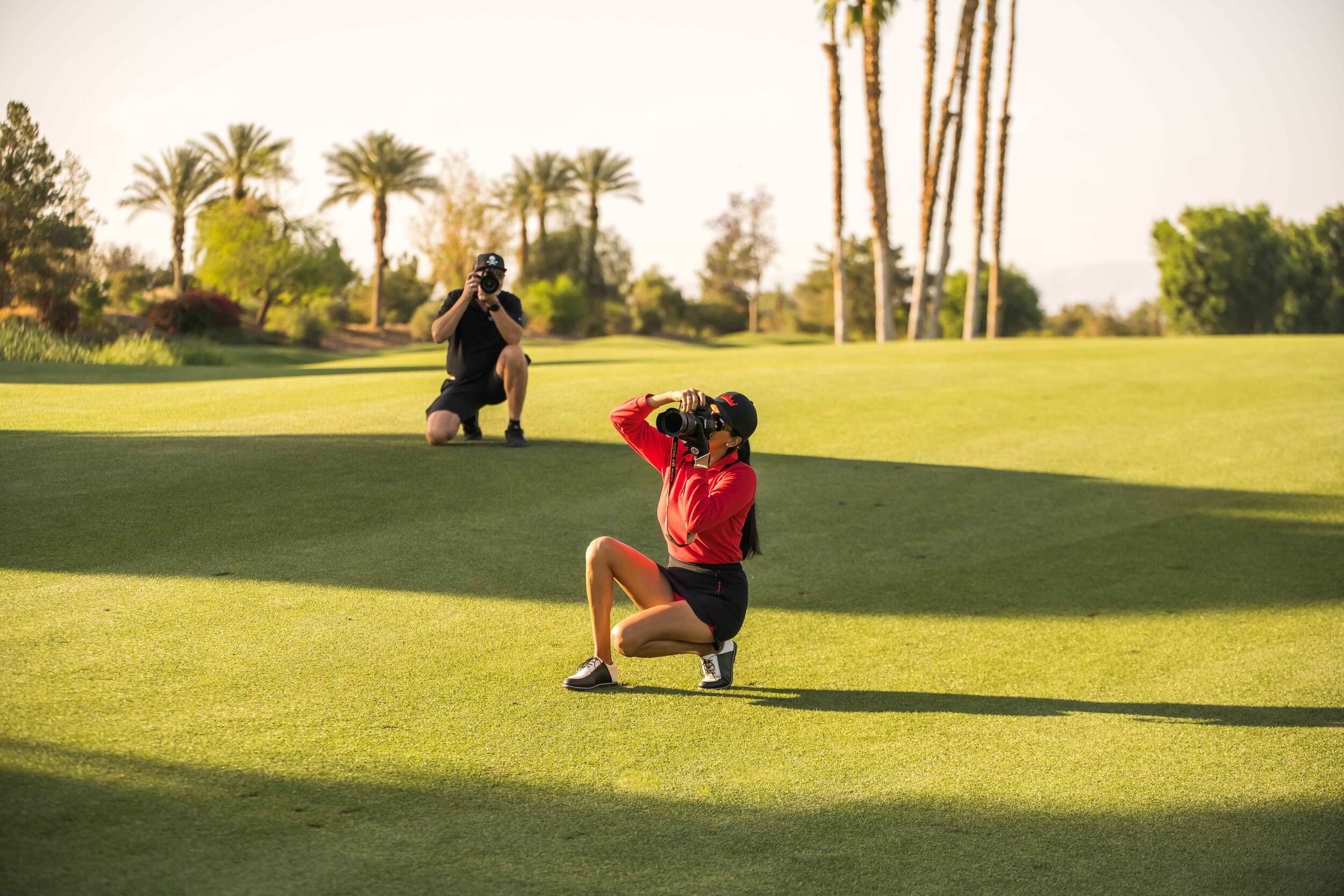 The fairways of Indian Wells are littered with  Trevor  and  Alejandra