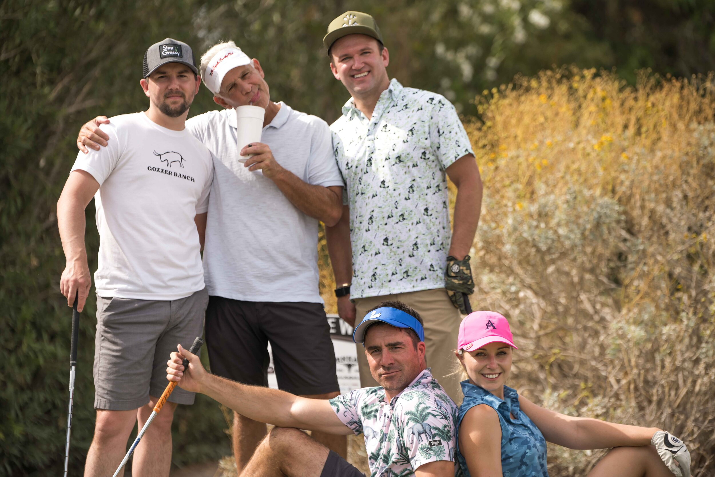 The crowd for the notorious 10 footer to make the cut consisted entirely of this rowdy crew.