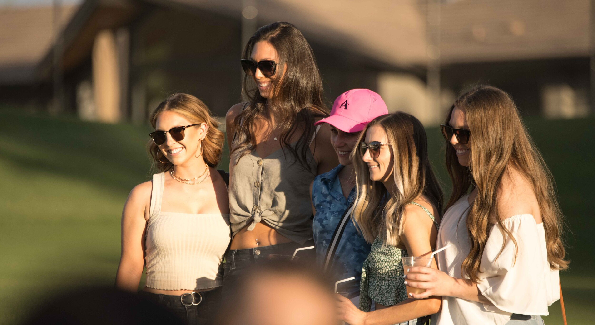 The wives and girlfriends, or WAGs, came out in full force to support the 2021 Grass Clippings Open.