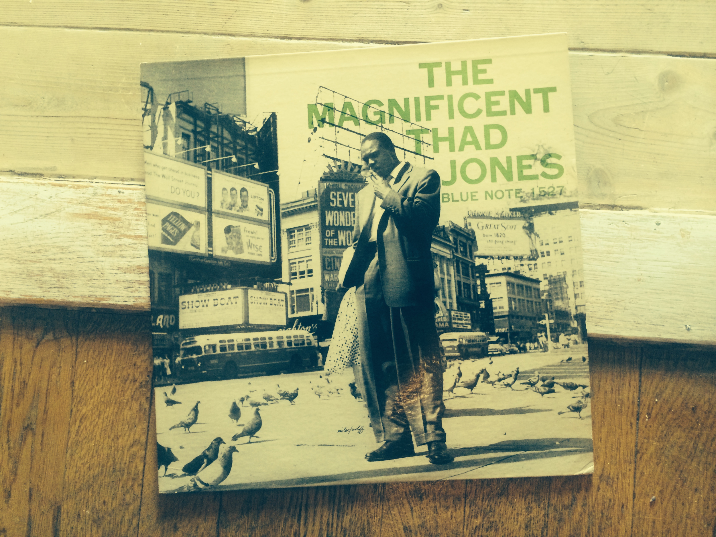 The Magnificent Thad Jones on Blue Note 1527