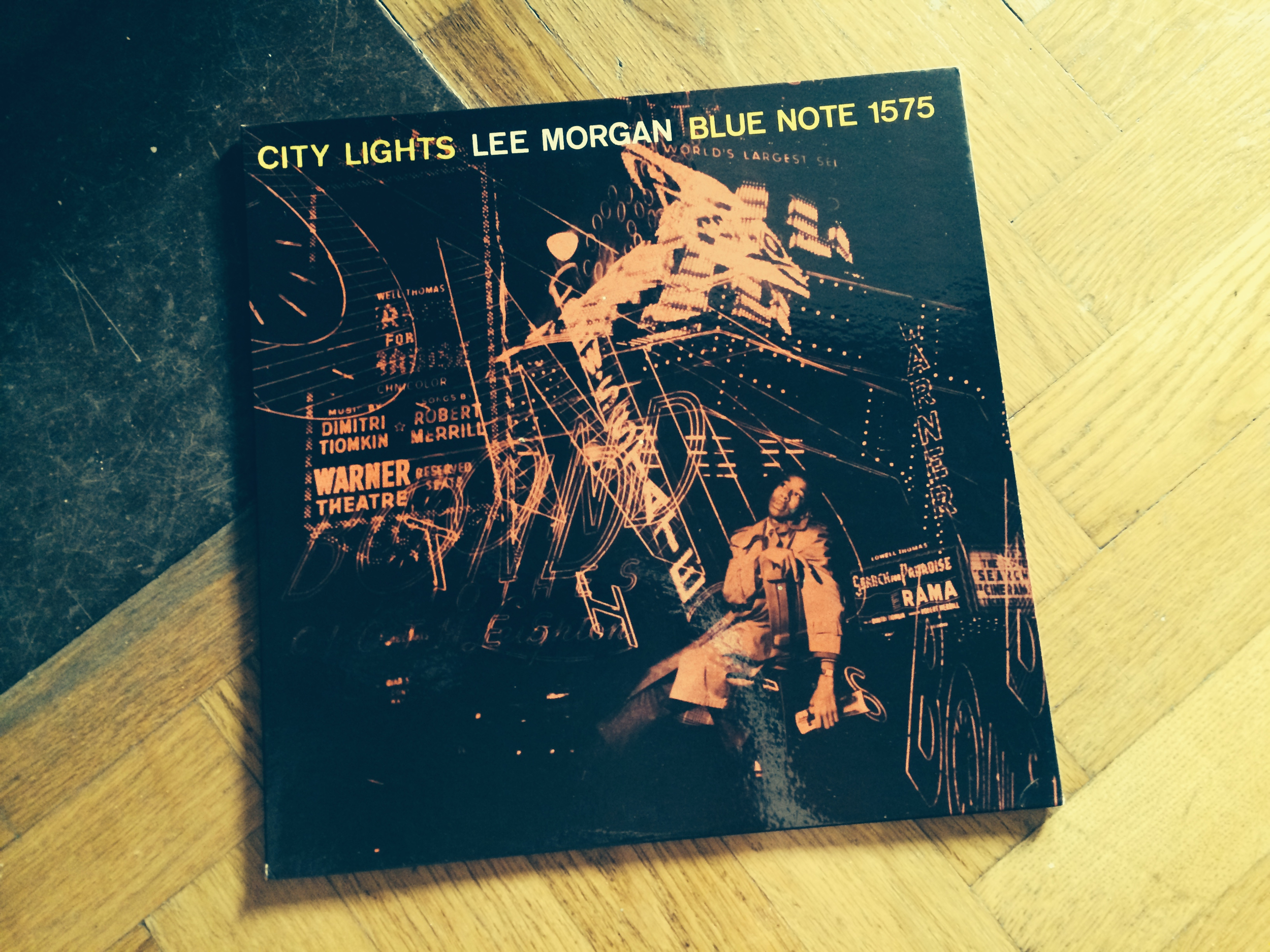 """""""City Lights"""" Blue Note 1575 by Lee Morgan"""